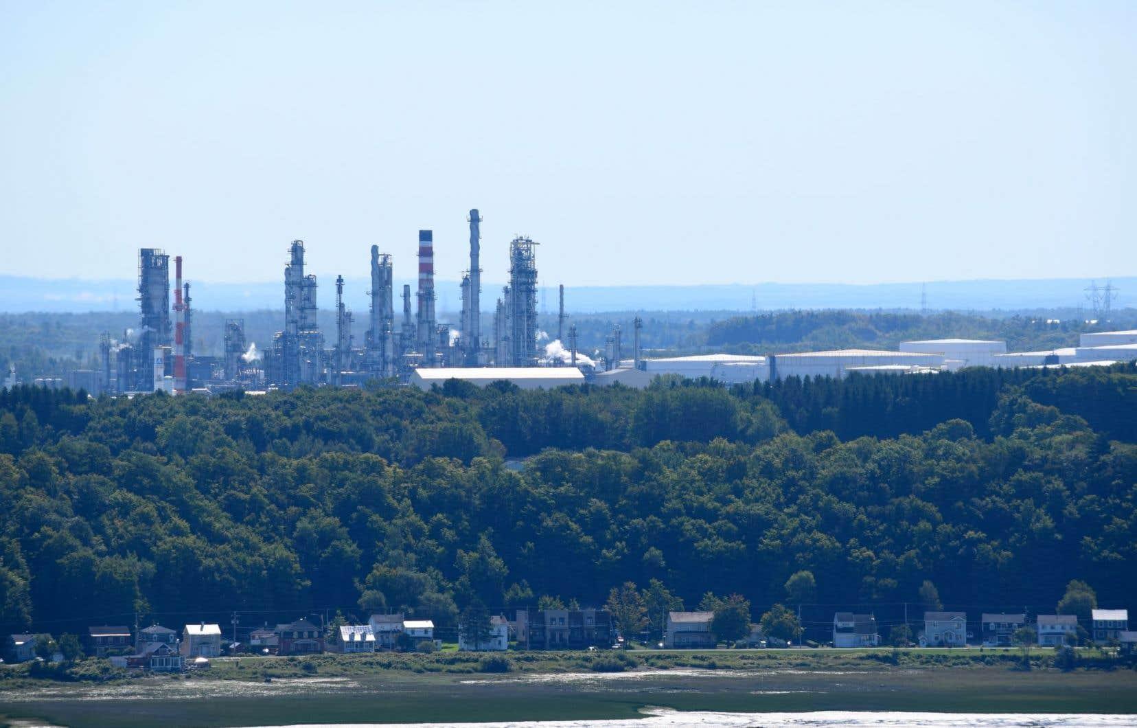 La raffinerie de Valero à Lévis