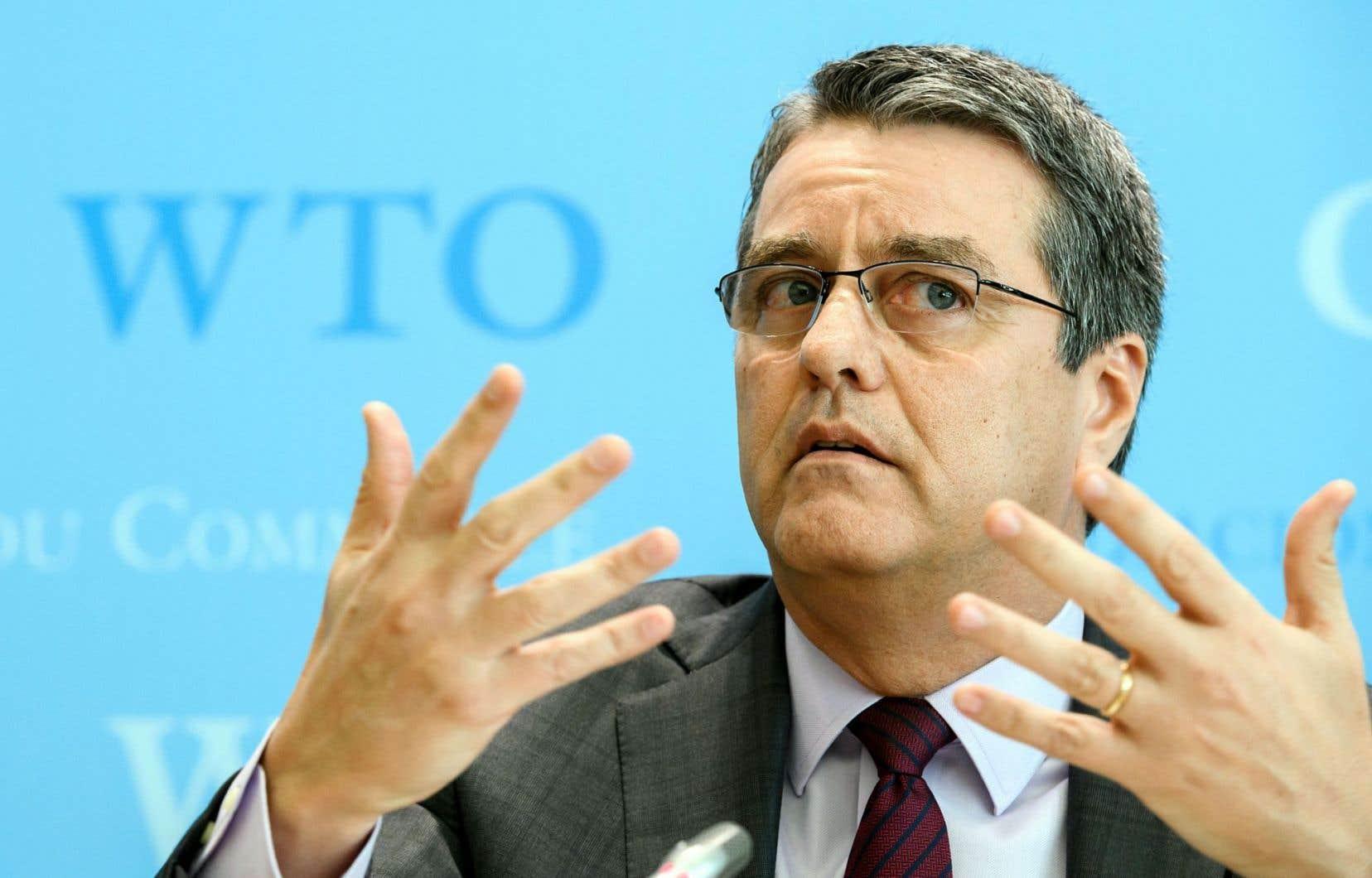 Le directeur général de l'OMC, le Brésilien Roberto Azevedo