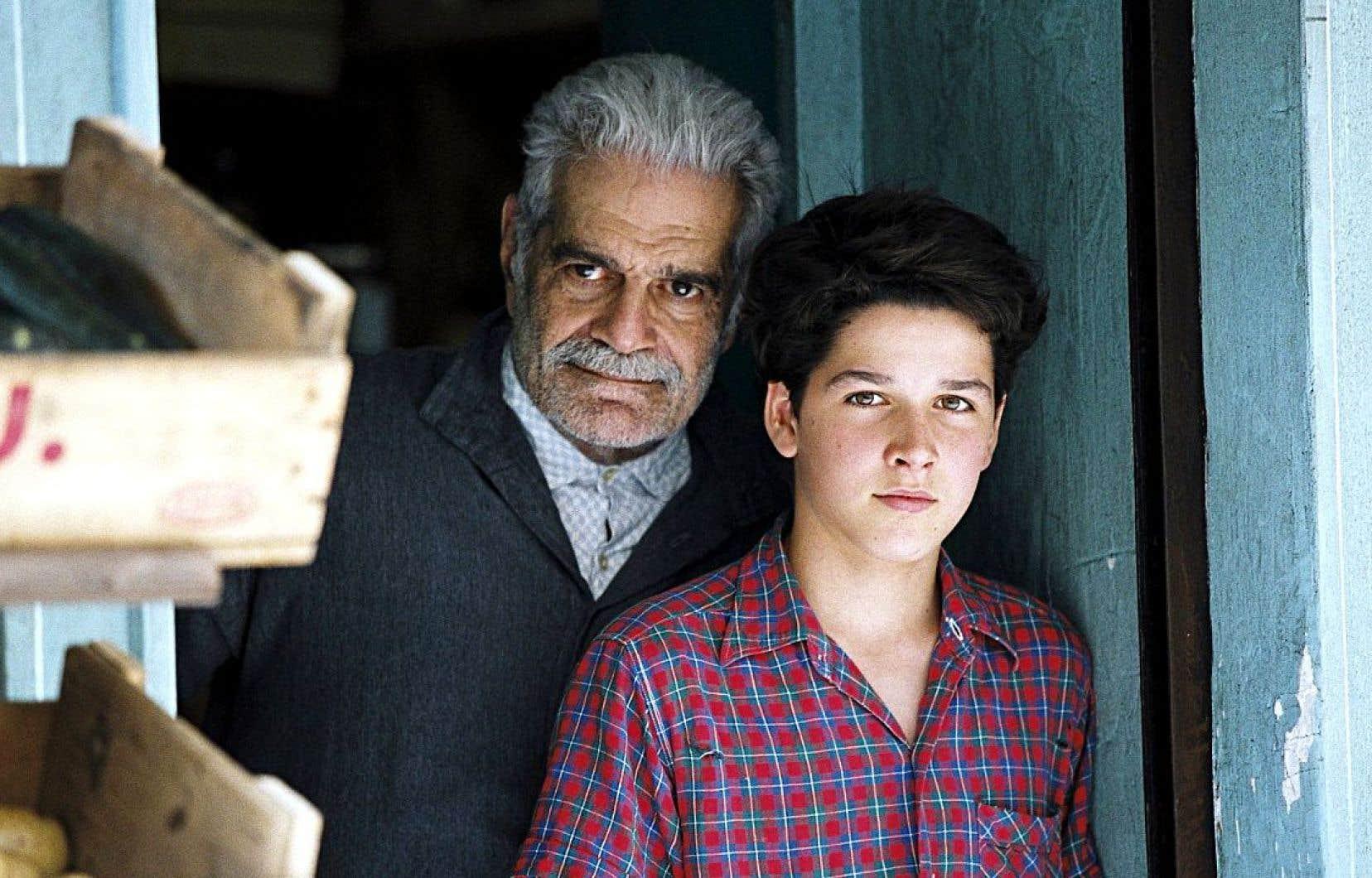 Le regretté Omar Sharif et Pierre Boulanger dans «Monsieur Ibrahim et les fleurs du Coran», film adapté par François Dupeyron