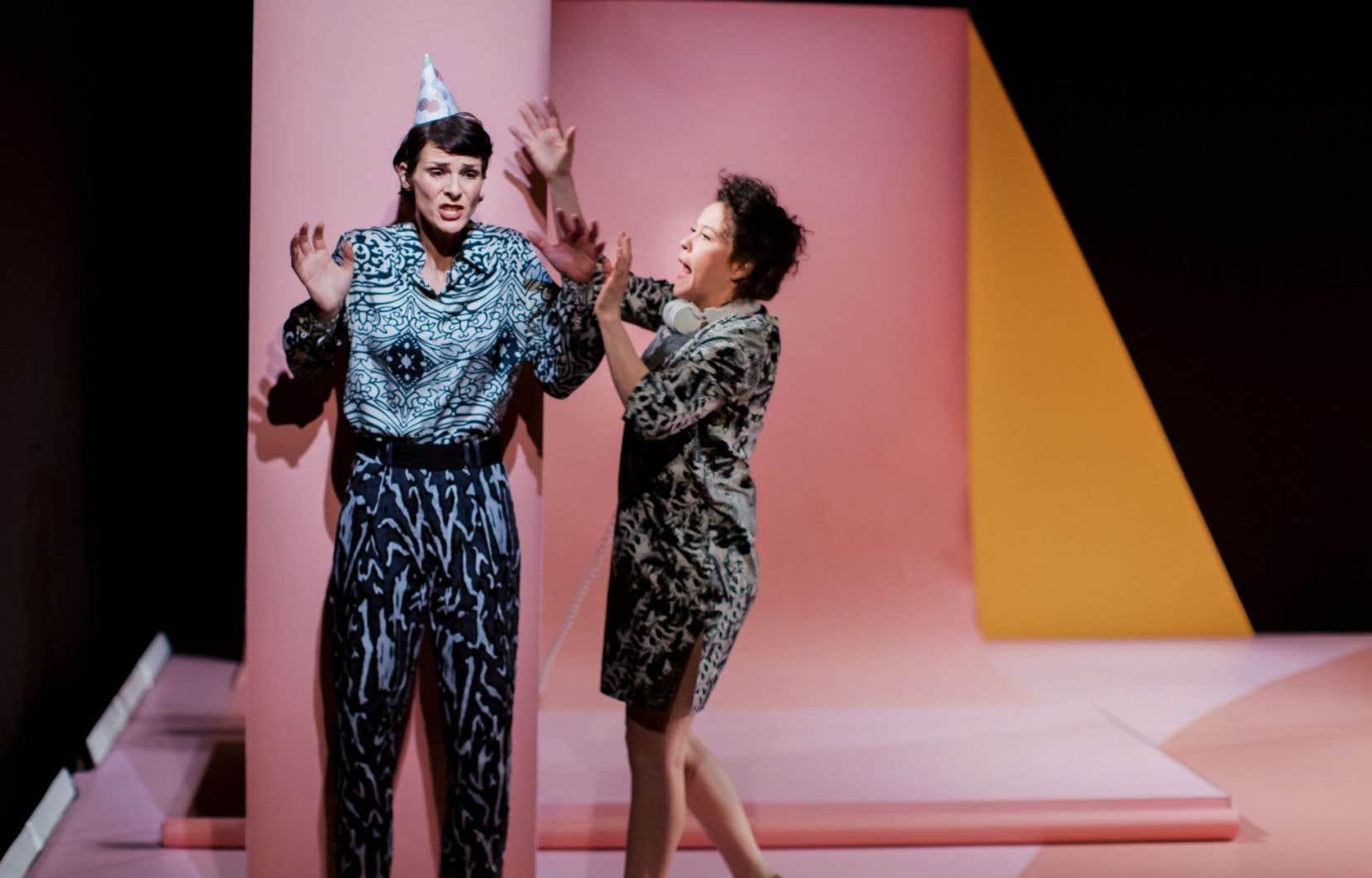 Conçue par une équipe majoritairement féminine, «Gamètes» a attiré des représentantes de Femmes pour l'équité en théâtre (FET).