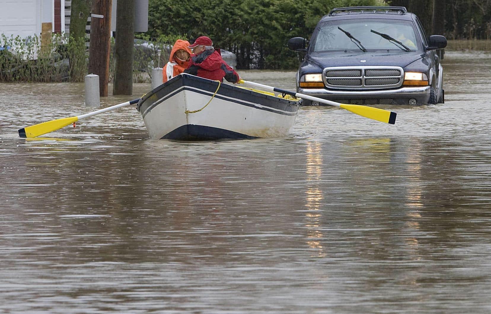 Les catastrophes naturelles vont se multiplier au cours des prochaines années en raison des changements climatiques.