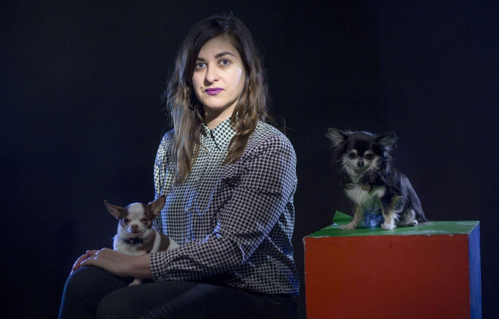 L'artiste multidisciplinaire montréalaise Dominique Pétrin
