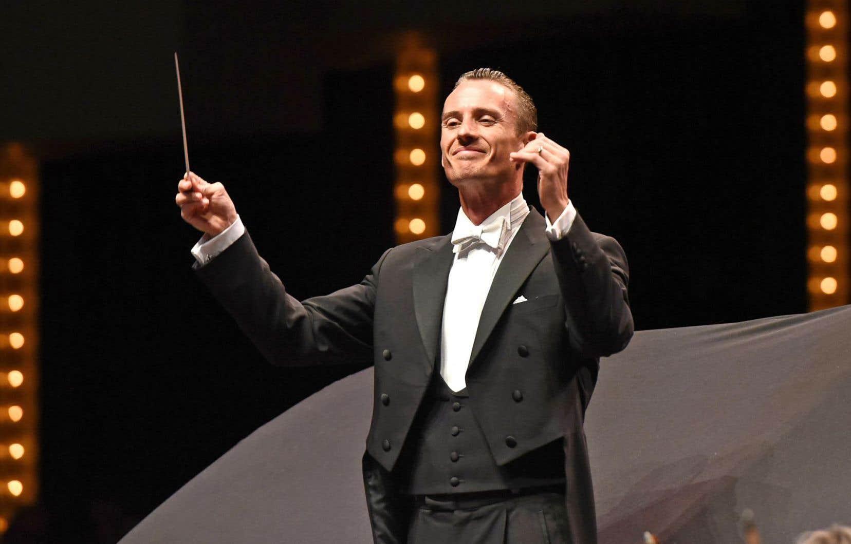Le chef Alexander Shelley dirigera, en février2018, le pianiste Alain Lefèvre dans le concerto de Walter Boudreau.