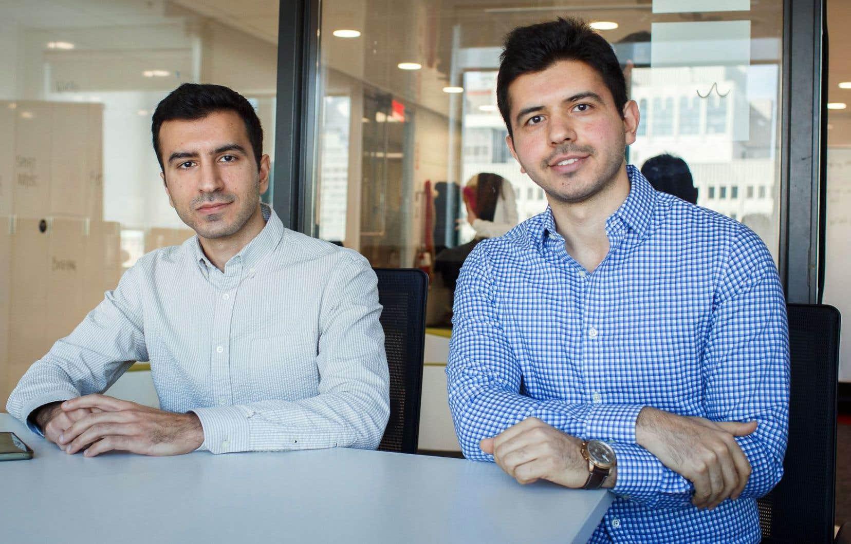 Les frères Mehrdad et Farshad Mirshafiei ont créé l'entreprise Sensequake, spécialisée dans la détection des ondes sismiques depuis 2015.