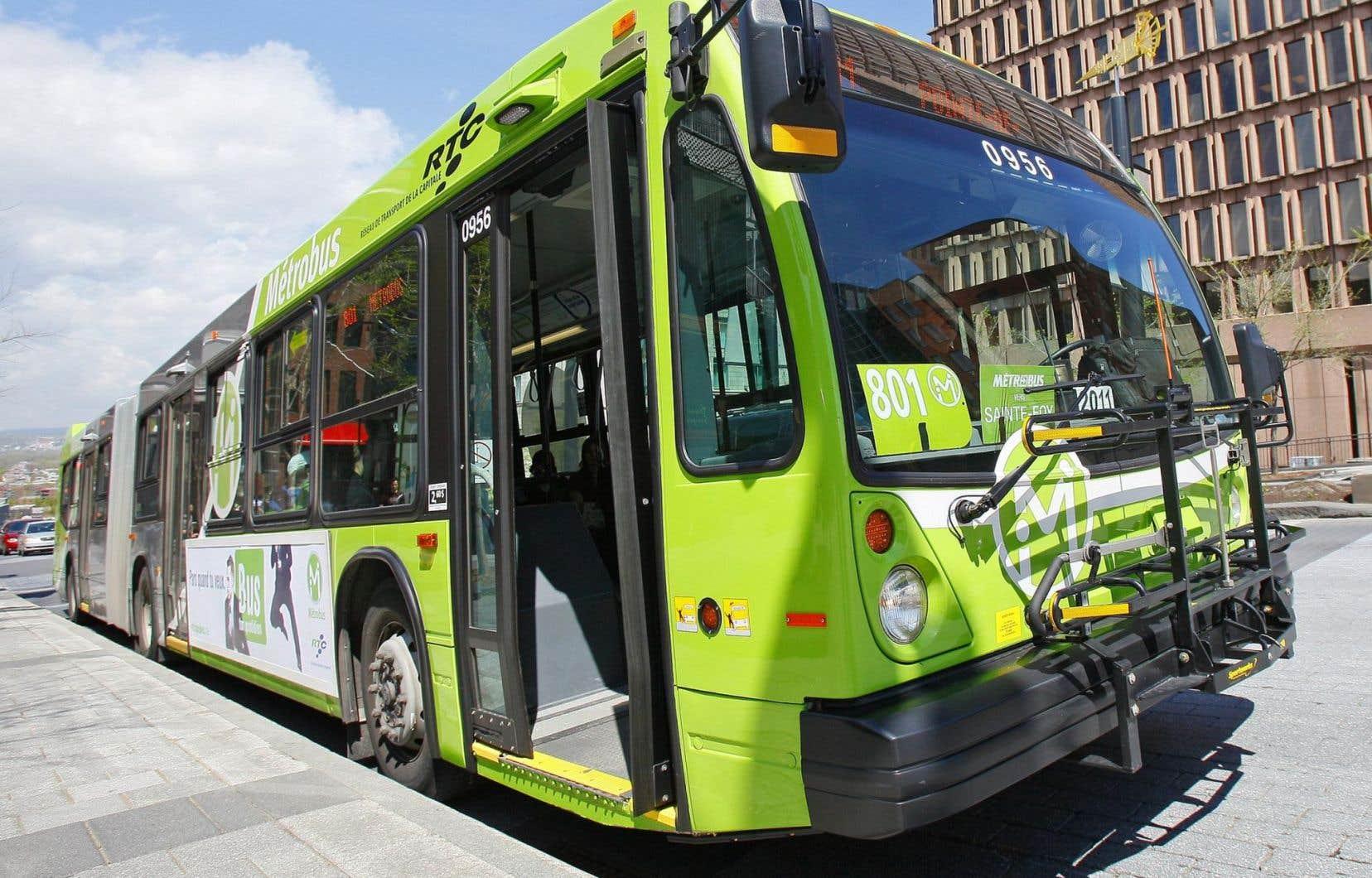 Le syndicat des chauffeurs du Réseau de transport de la capitale compte 950 membres.