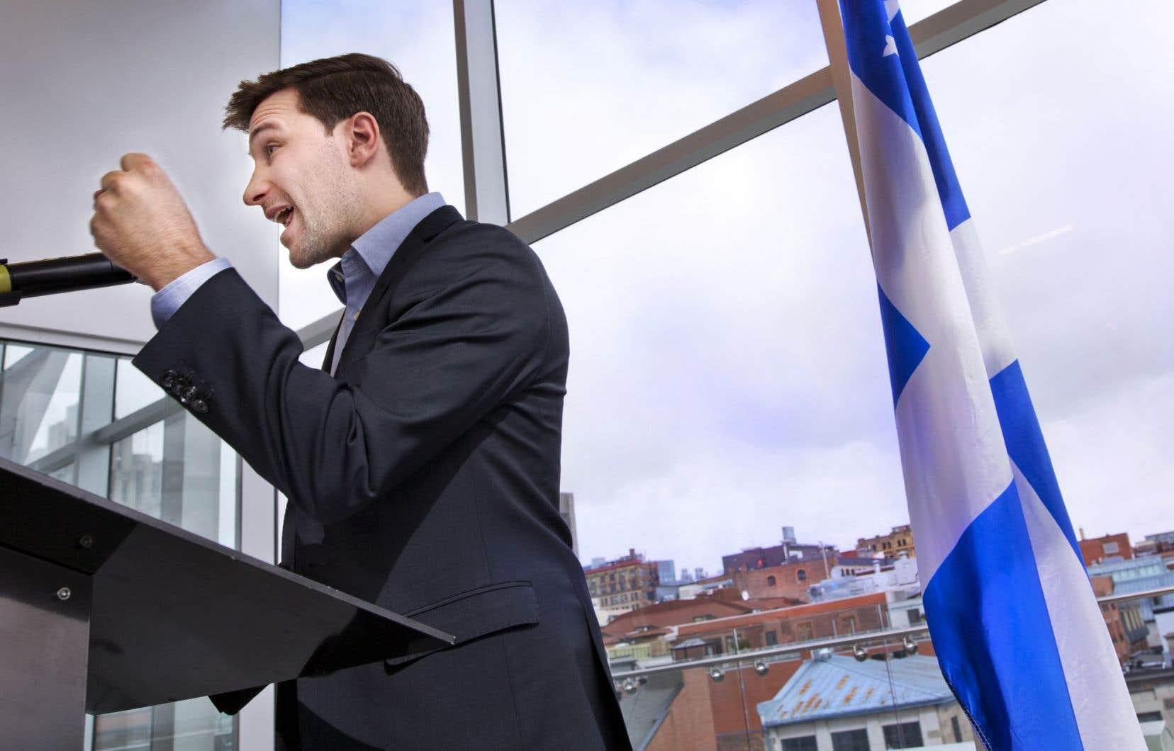 Gabriel Nadeau-Dubois a annoncé son entrée en politique active jeudi dernier.