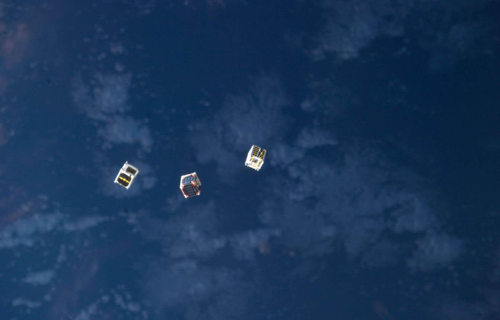Les microsatellites CubSats vont explorer l'ignorosphère.