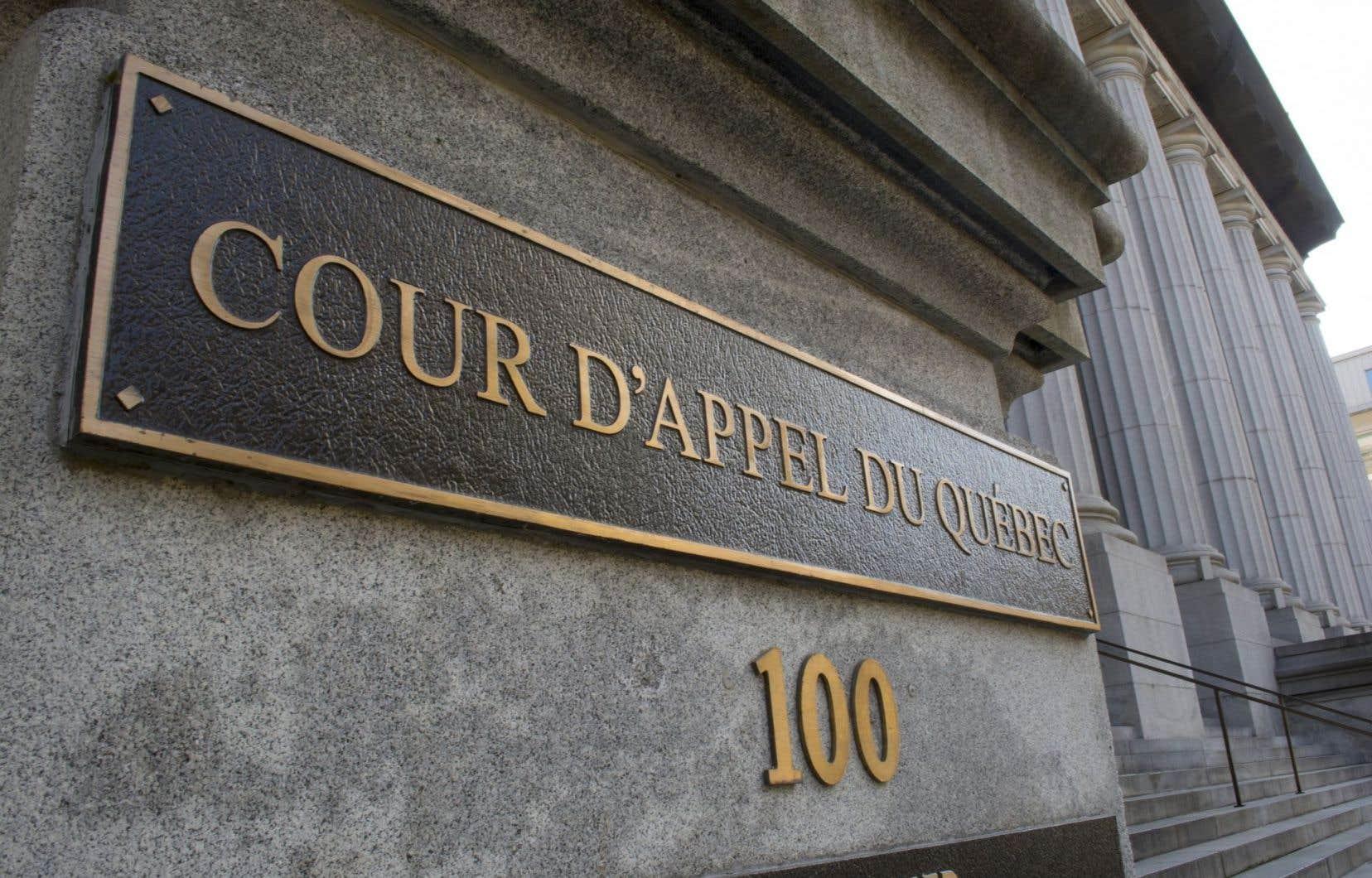 La Cour d'appel maintient la décision du Tribunal de première instance, mais revoit à la baisse l'indemnité.