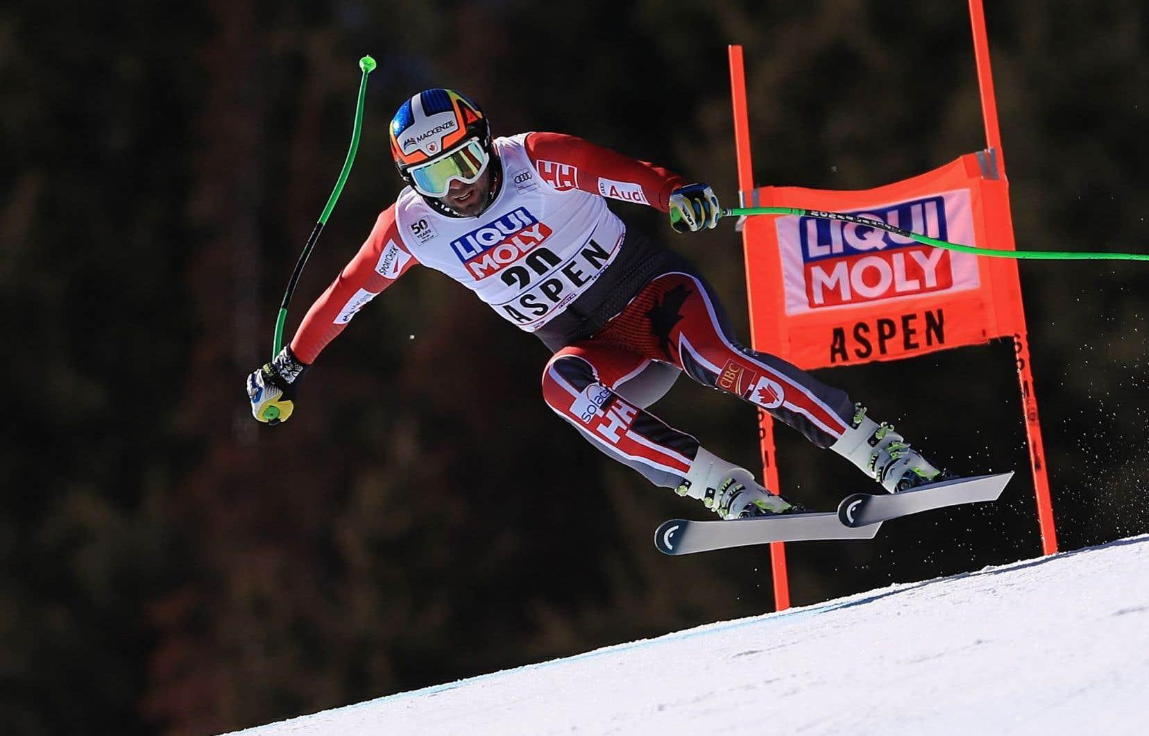 Le skieur canadienManuel Osborne-Paradis