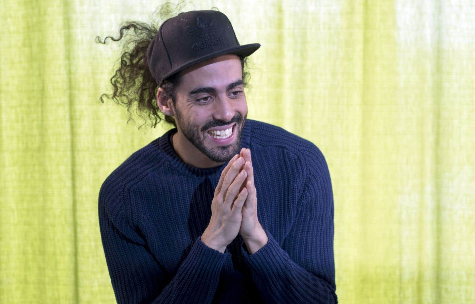 Pour Adib Alkhalidey, le but de la scène est de dire des choses qui nous donnent envie de mieux vivre ensemble.