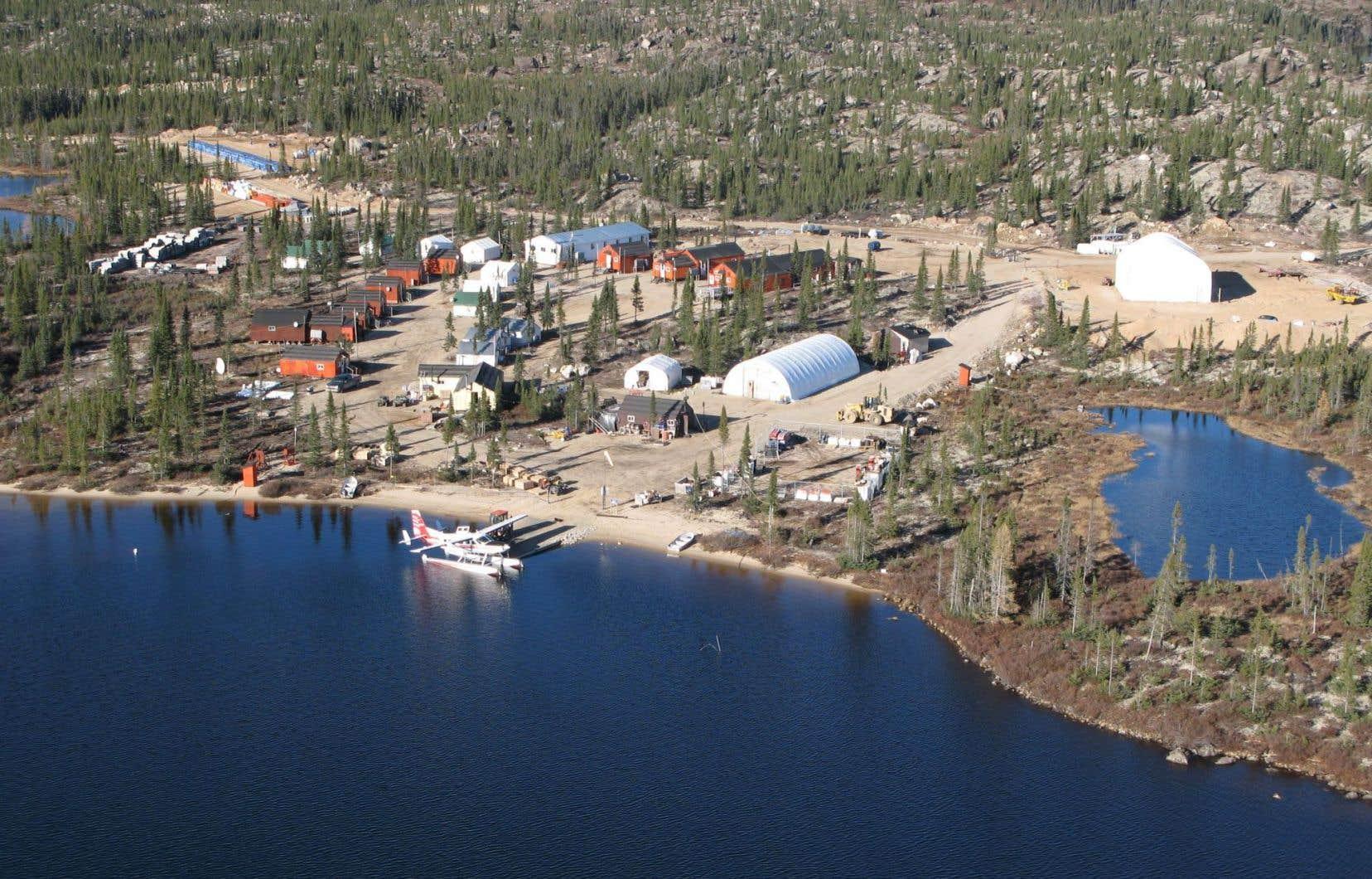 Stornoway exploite le site minier Renard dans la région de la Baie-James, seul producteur de diamants au Québec.