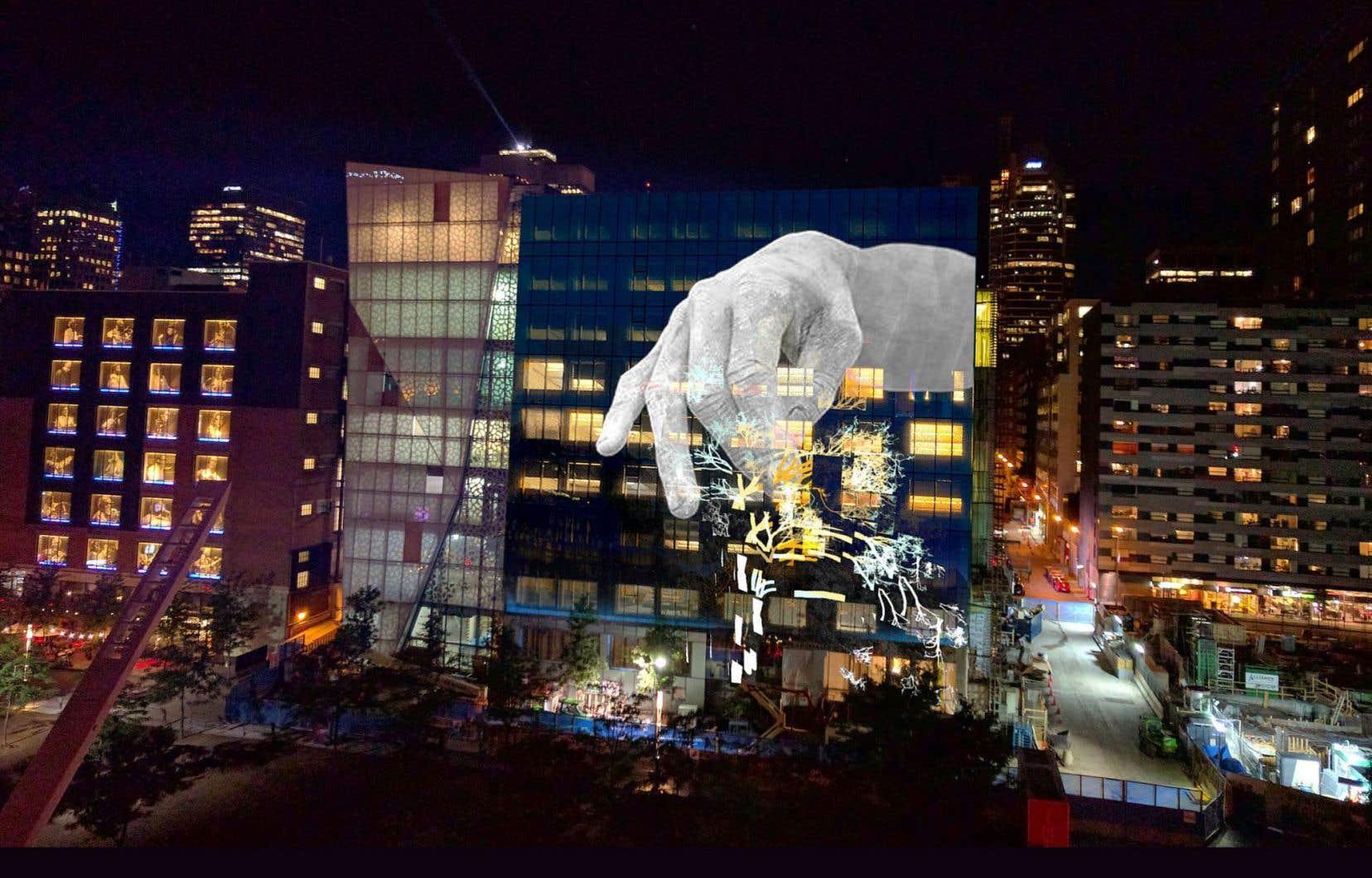 C'est la création originale d'Ottoblix, «Anaphore», qui a été retenue pour animer la neuvième façade permanente de vidéoprojection du Quartier des spectacles à partir de septembre prochain.