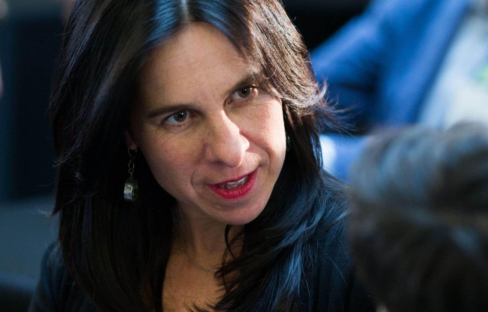 La chef de l'opposition à l'Hôtel de Ville de Montréal, Valérie Plante