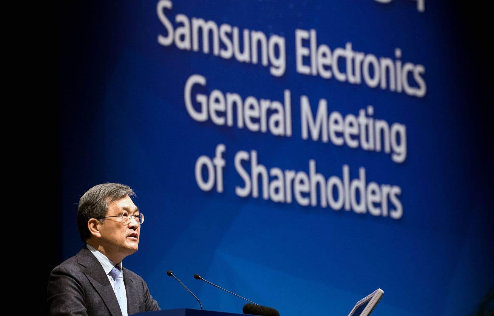 Le président du conseil d'administration de Samsung Electronics, Kwon Oh-hyun