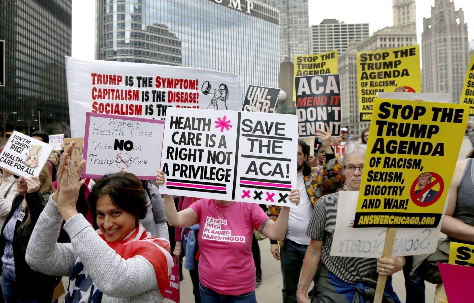 En vertu du «Trumpcare», près de 24 millions de personnes auraient perdu leur couverture médicale d'ici dix ans.