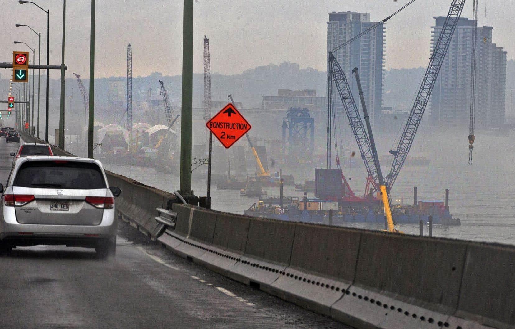Le nouveau pont doit être livré le 1erdécembre 2018.