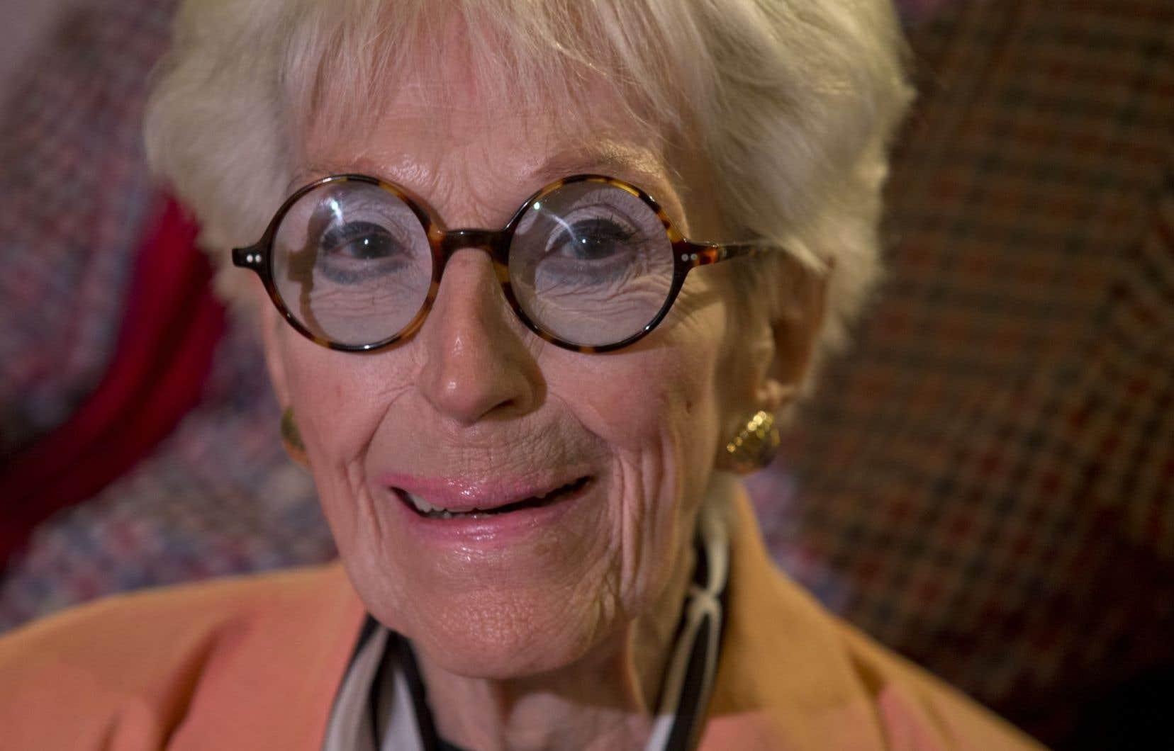La prolifique carrière artistique de Janine Sutto a débuté il y a plus de 70ans à la radio.