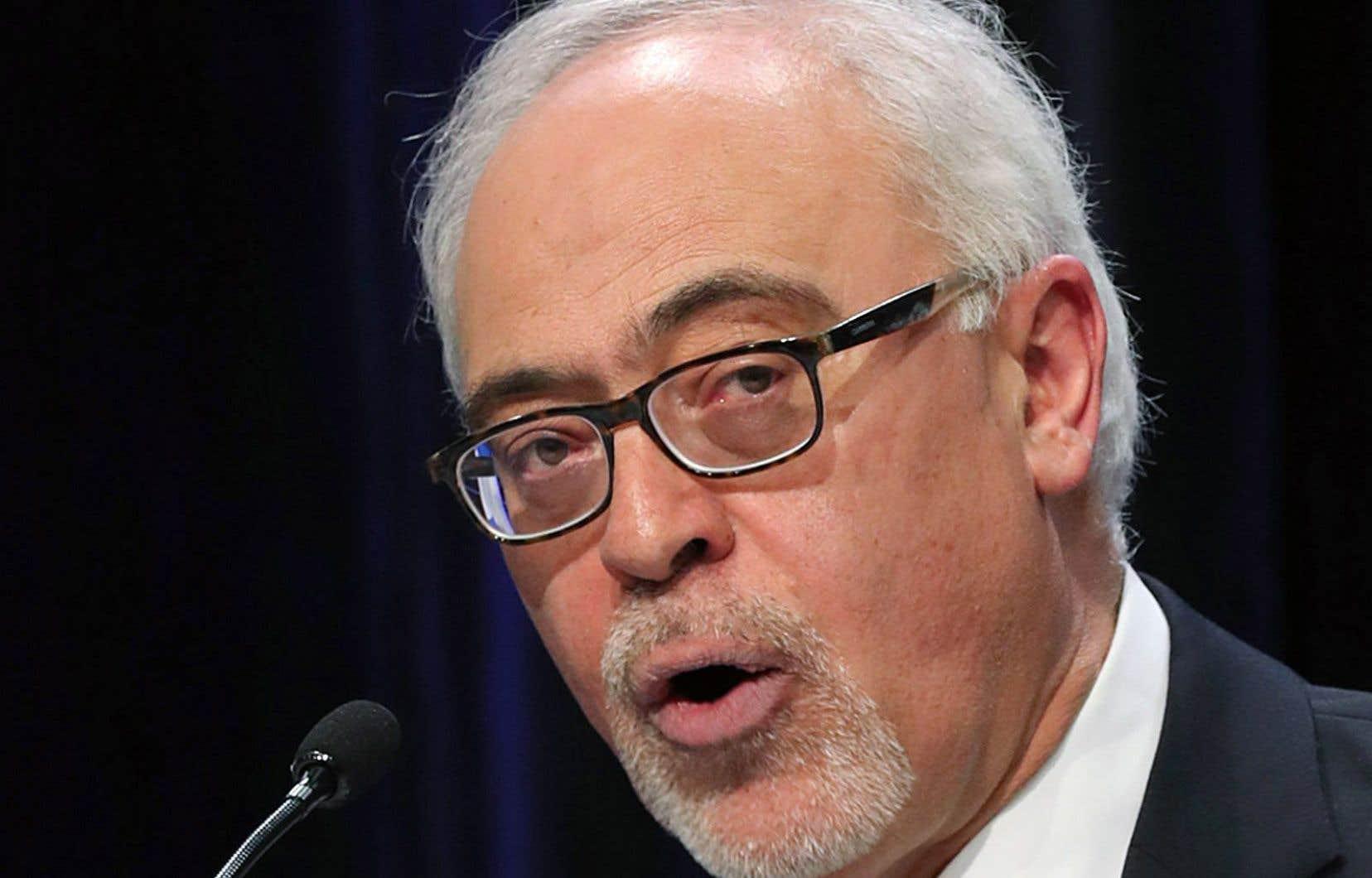 Le ministre des Finances du Québec, Carlos Leitão, a déposé un budget qui rompt avec ses habitudes.