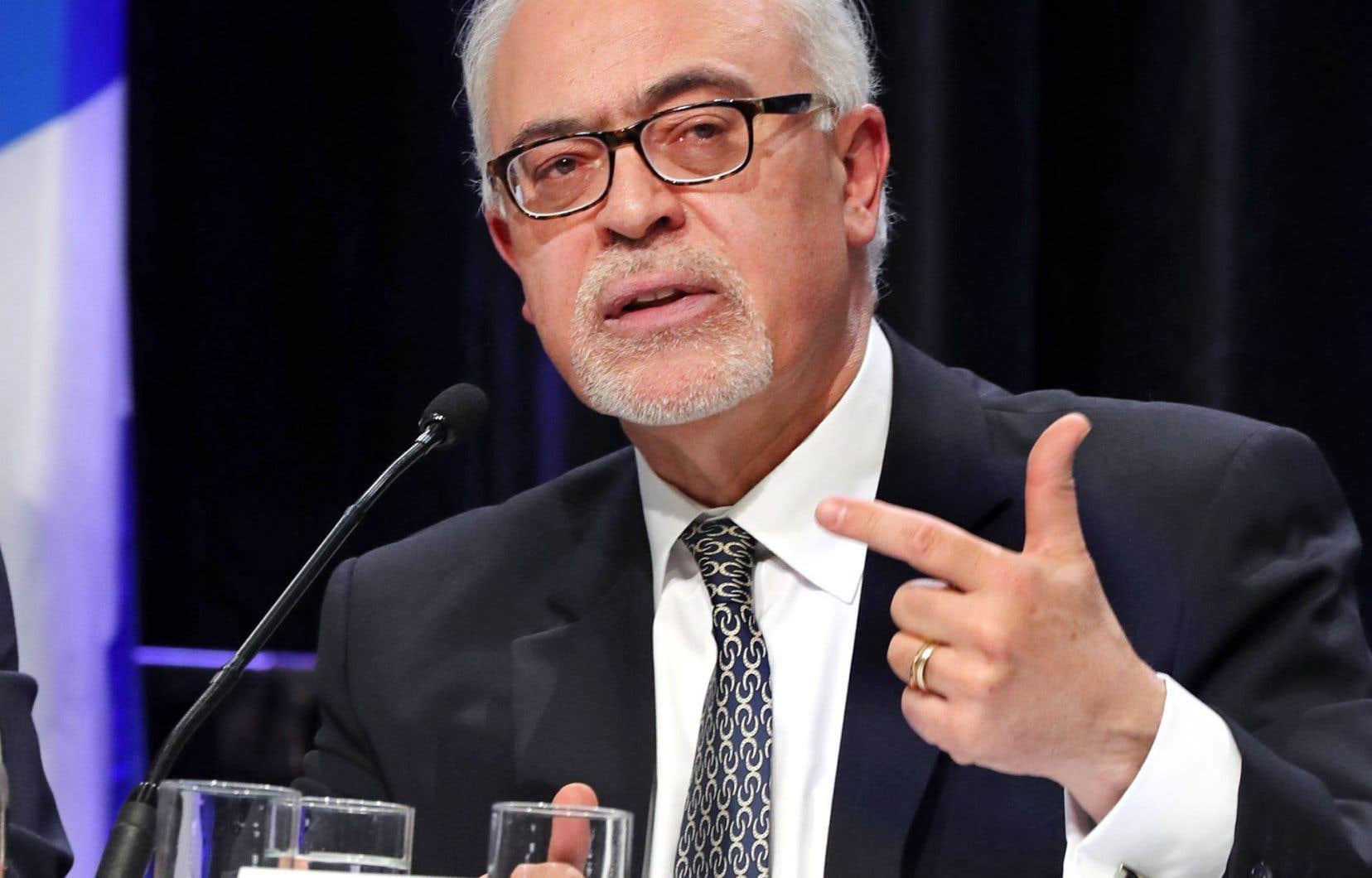 Le ministre des Finances du Québec, Carlos Leitão