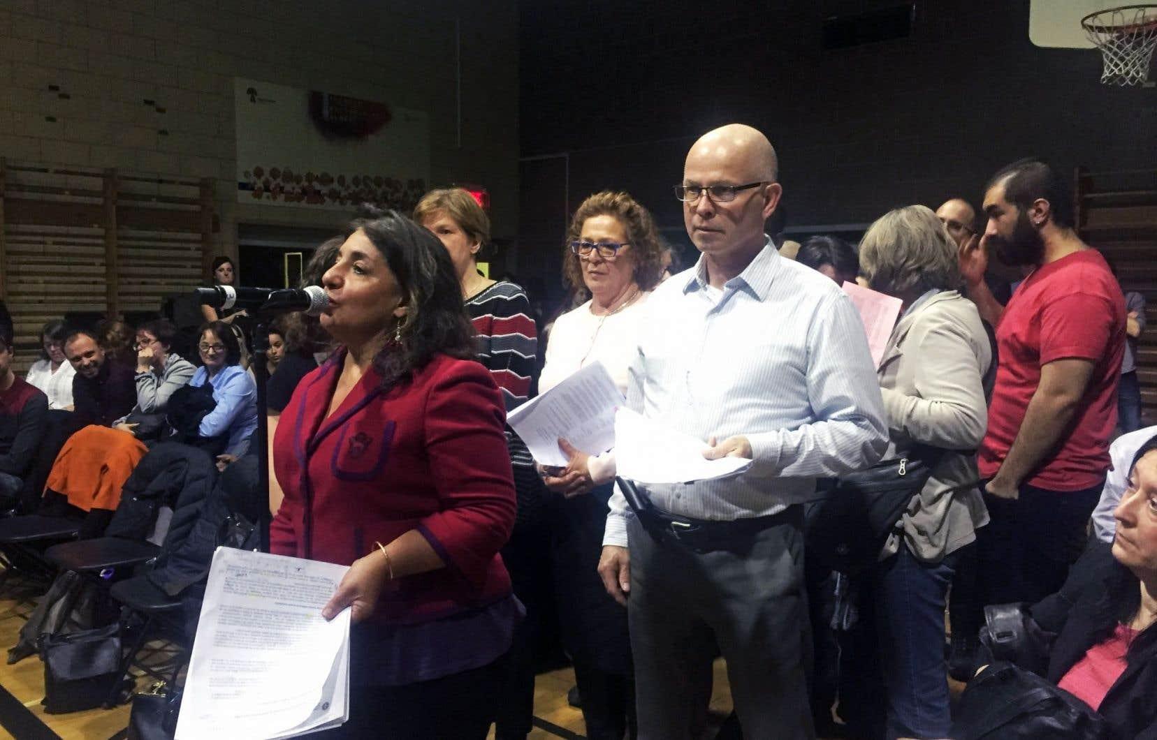 Les hausses de loyer mettent en péril 34 organismes communautaires, a déclaré Lydya Assayag, du Réseau québécois d'action pour la santé des femmes.