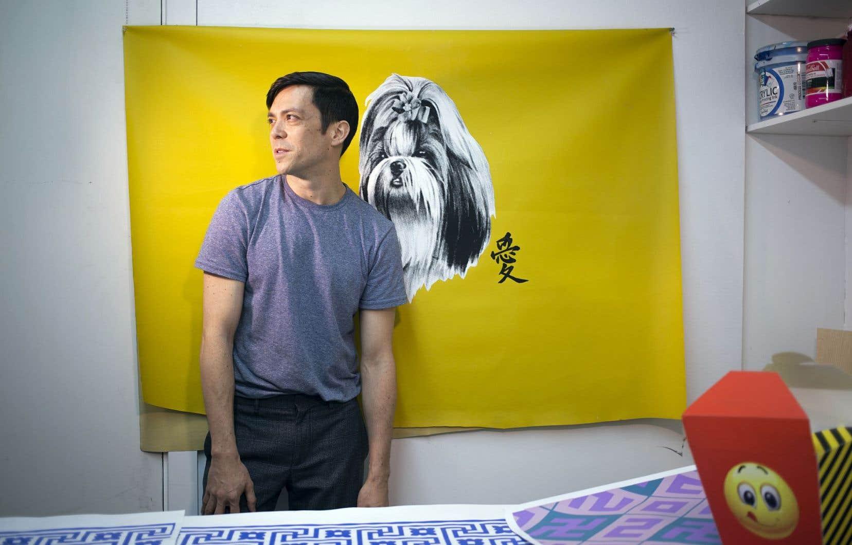 Pour Andrew Tay, le fait de toucher à la question de l'identité culturelle revient à s'aventurer sur un terrain inconnu et hasardeux.