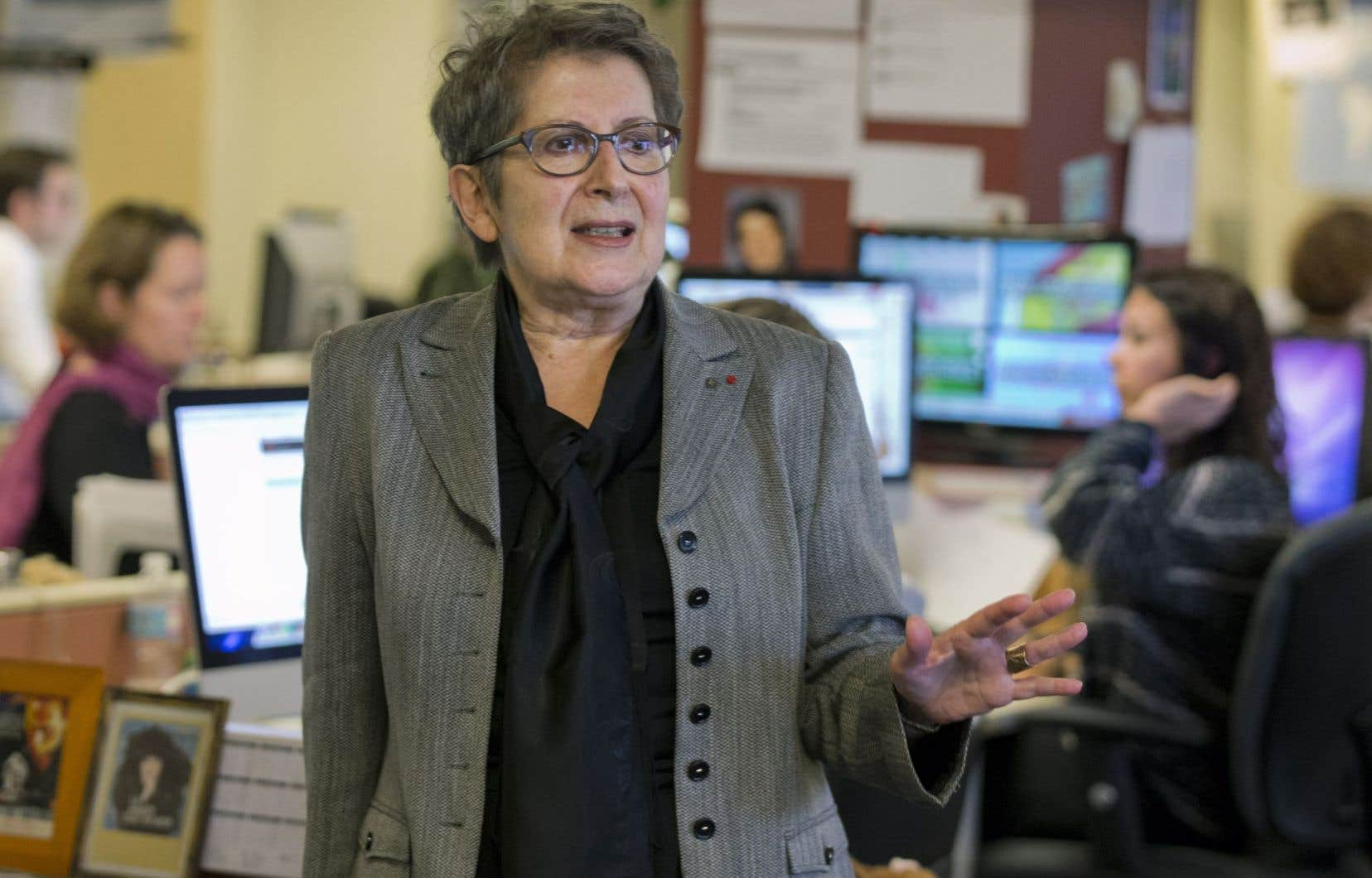 L'ancienne directrice du «Devoir» et présidente-directrice générale de Bibliothèque et Archives nationales du Québec, Lise Bissonette