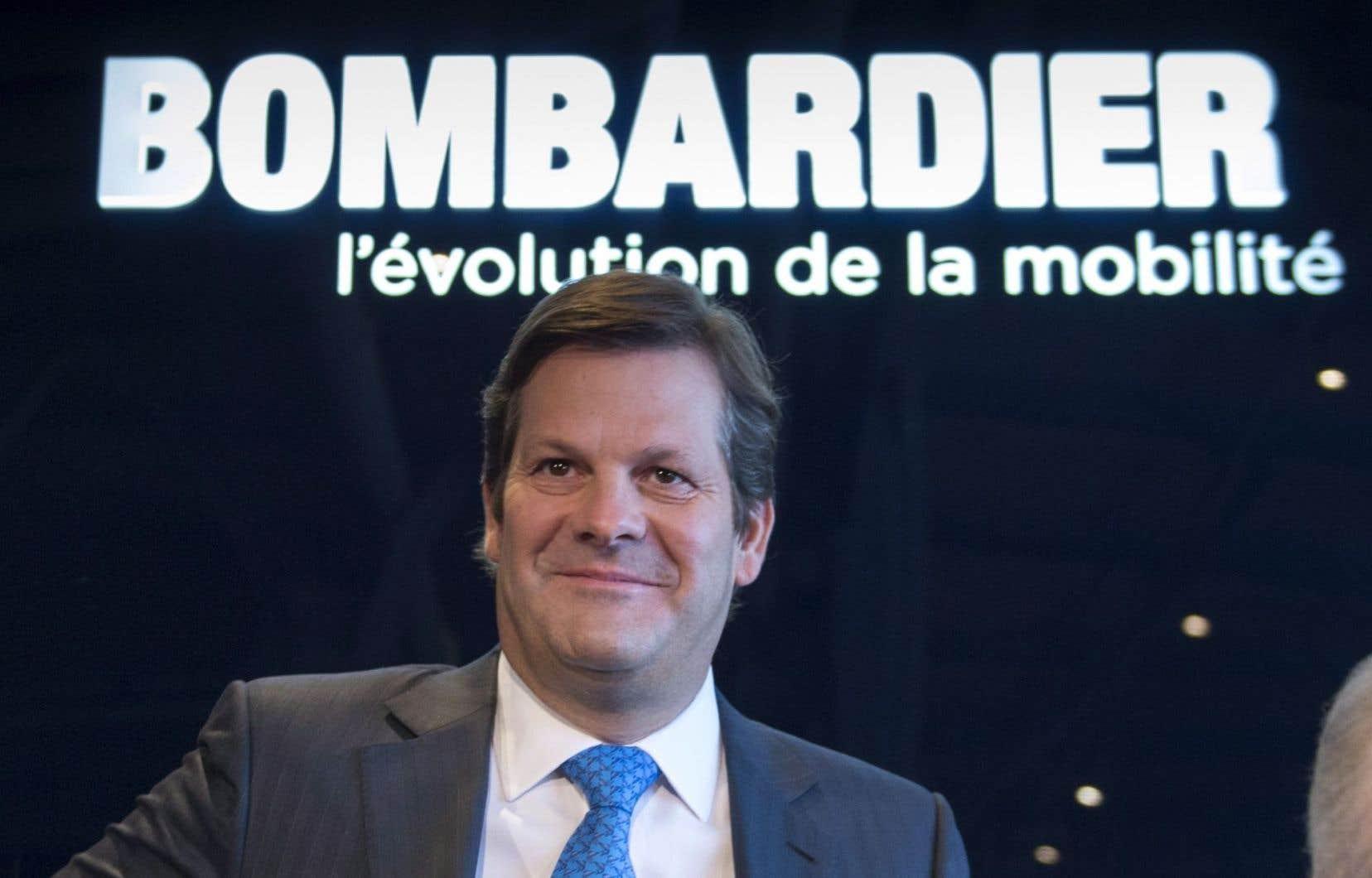 Le président exécutif du conseil d'administration de Bombardier, Pierre Beaudoin