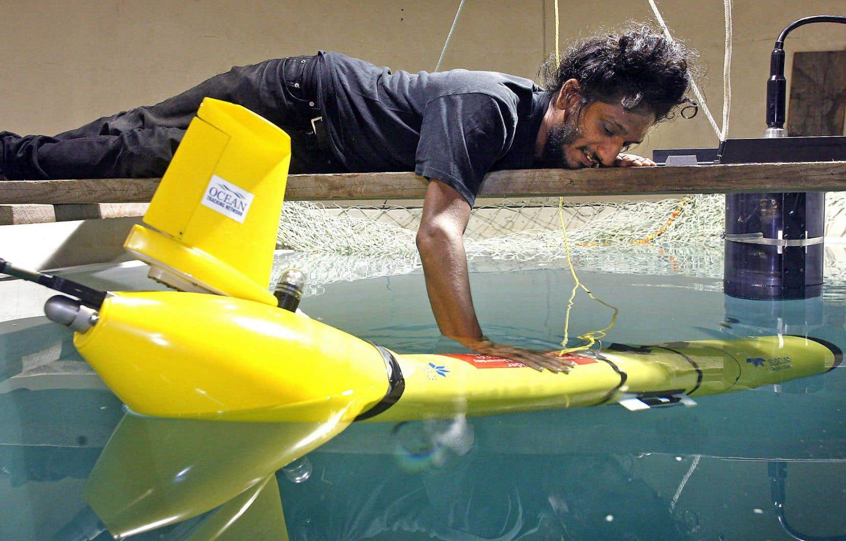 Depuis trois ans, les Slocum Gliders de l'Université Rutgers de New-Brunswick ont pris la mer.