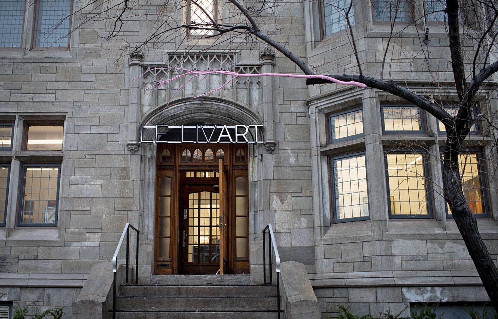 Le modèle d'affaires du centre d'art Le Livart est plus proche de la fondation à but non lucratif que de la galerie commerciale.