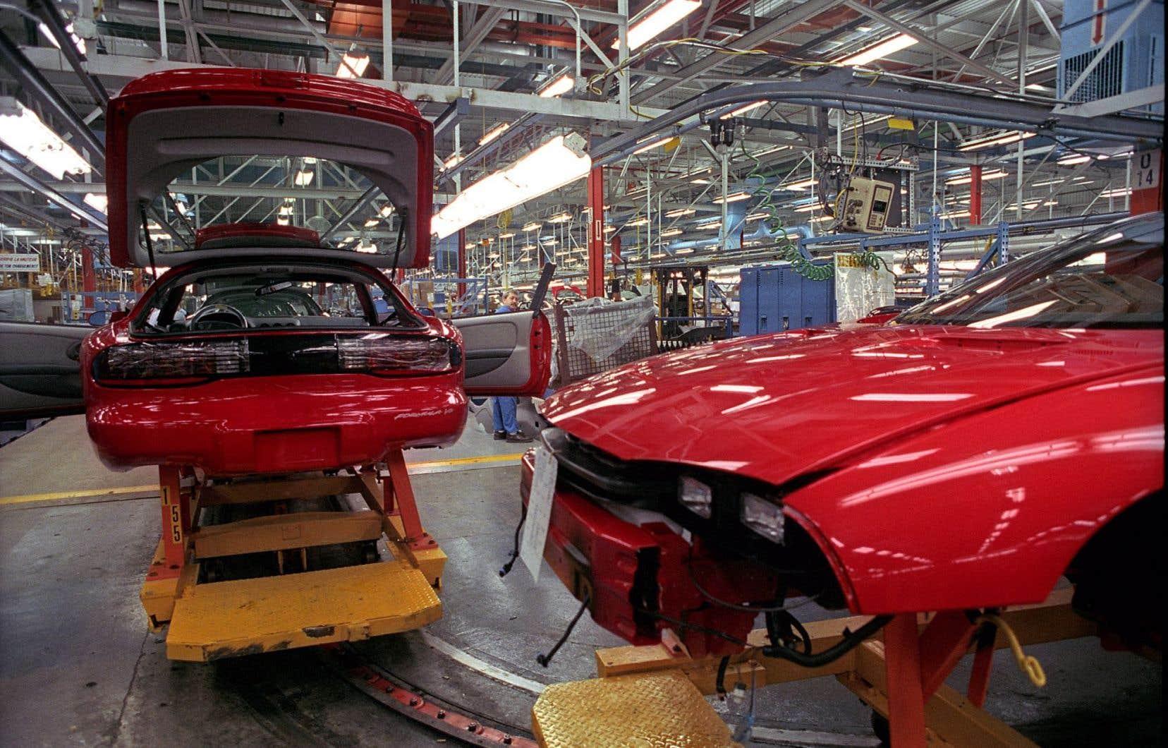 Le complexe de GM à Boisbriand, où étaient assemblés les modèles Camaro et Firebird, a cessé de produire à l'été 2002.