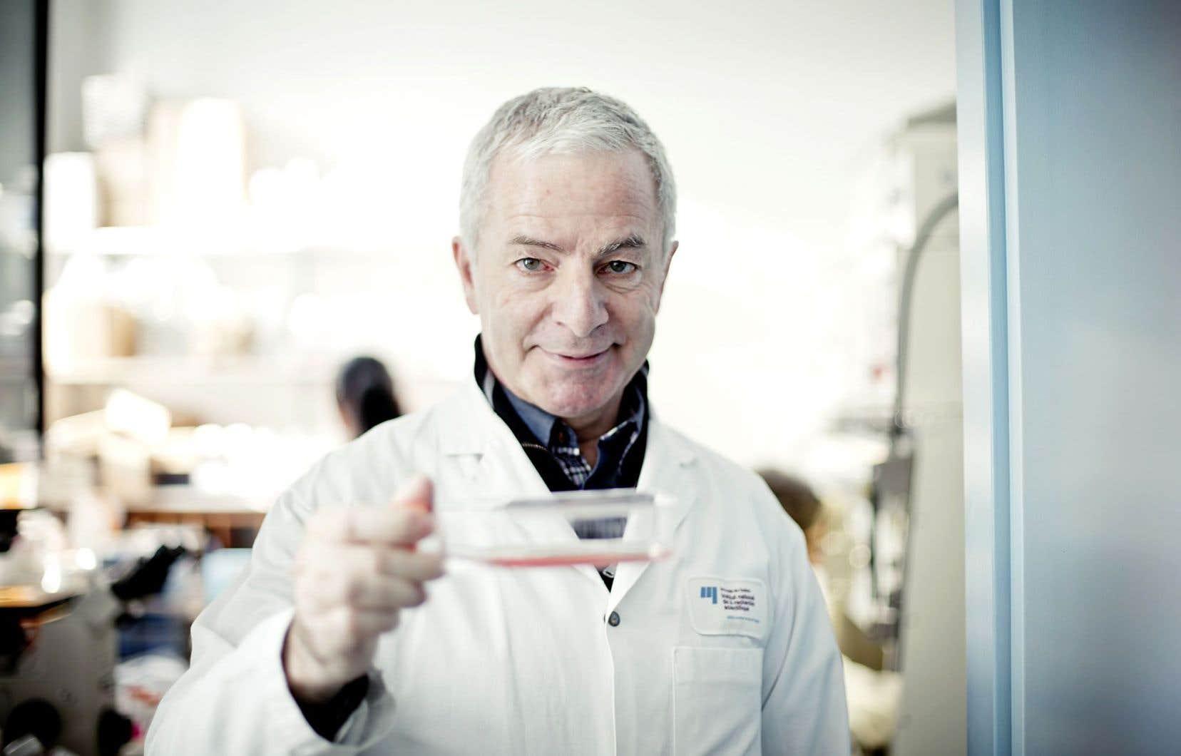 Pierre Talbot, directeur de l'Institut Armand-Frappier
