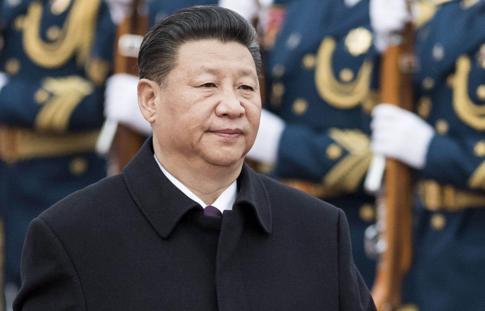 Le président de la Chine, Xi Jinping