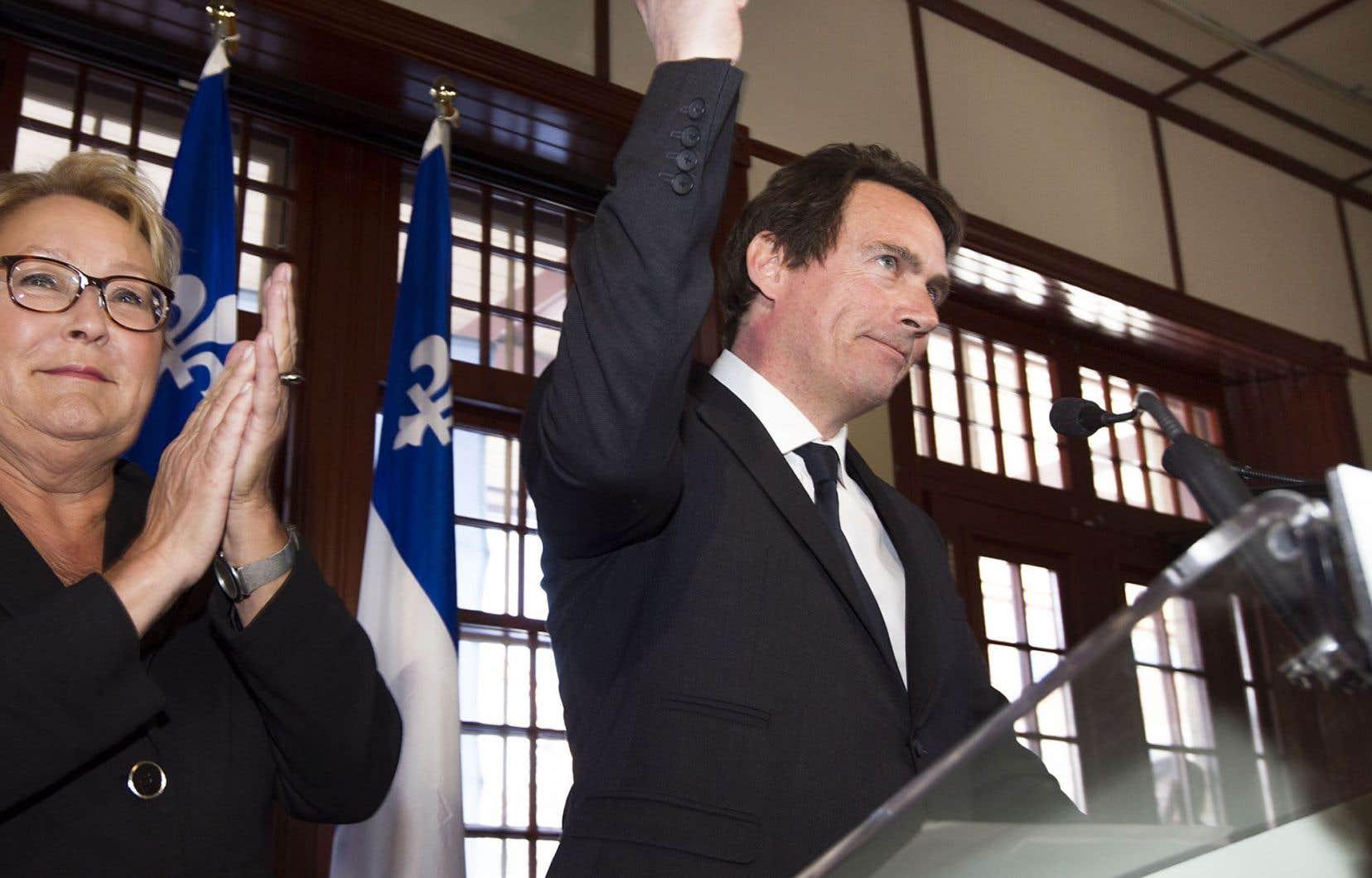 Pierre Karl Péladeau été perçu par plusieurs comme un sauveur lors de son entrée en politique, en 2014.