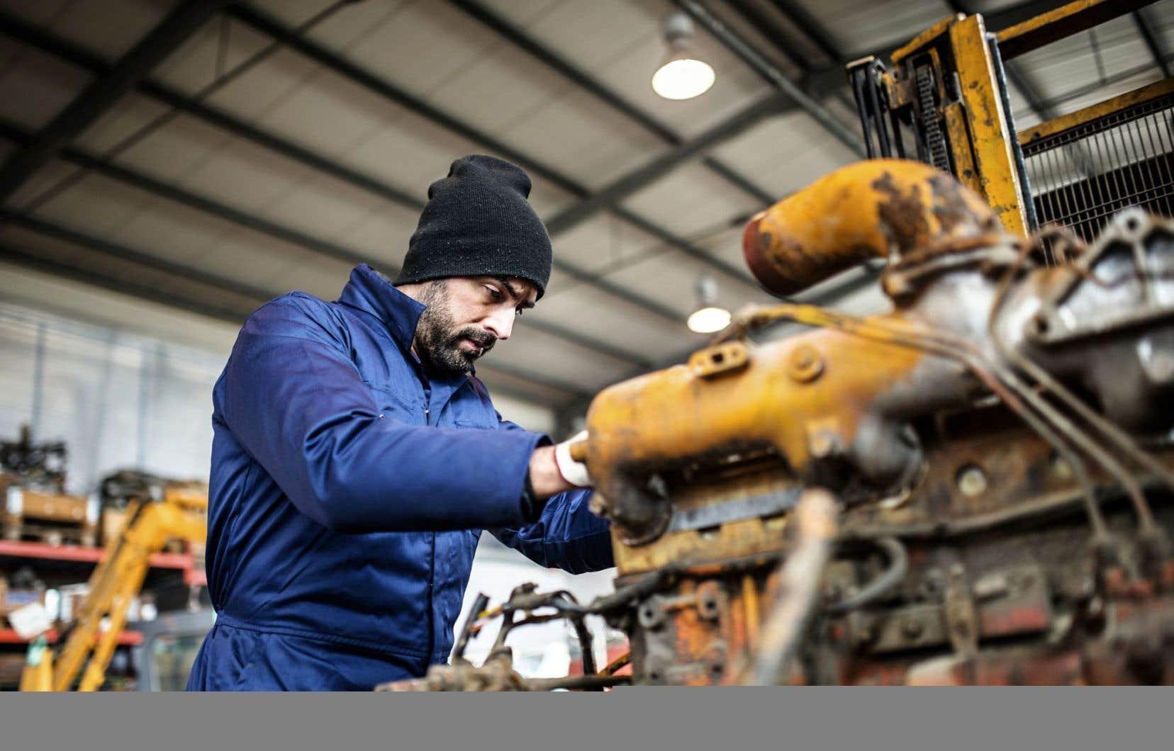 Un léger rebond a été observé du côté du secteur manufacturier.