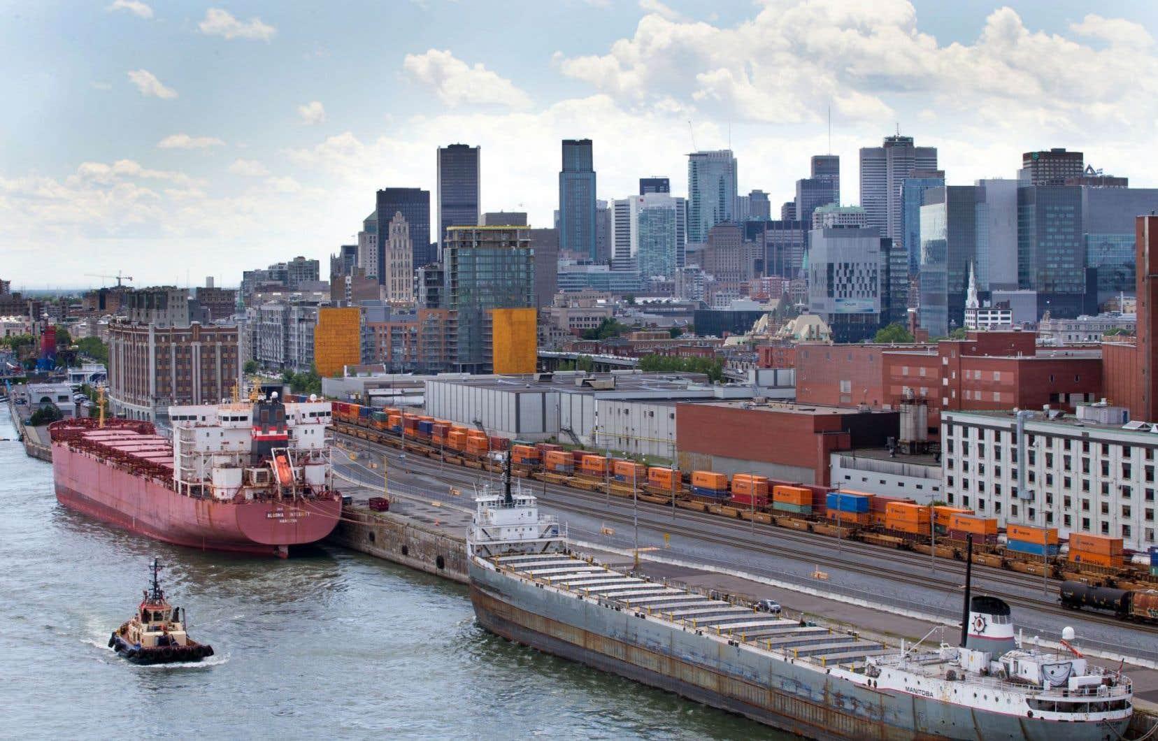 Pour tirer leur épingle du jeu, les ports de Montréal (photo), de Trois-Rivières et de Québec, pour ne citer que ceux-là, doivent se mesurer aux géants de la côte est.