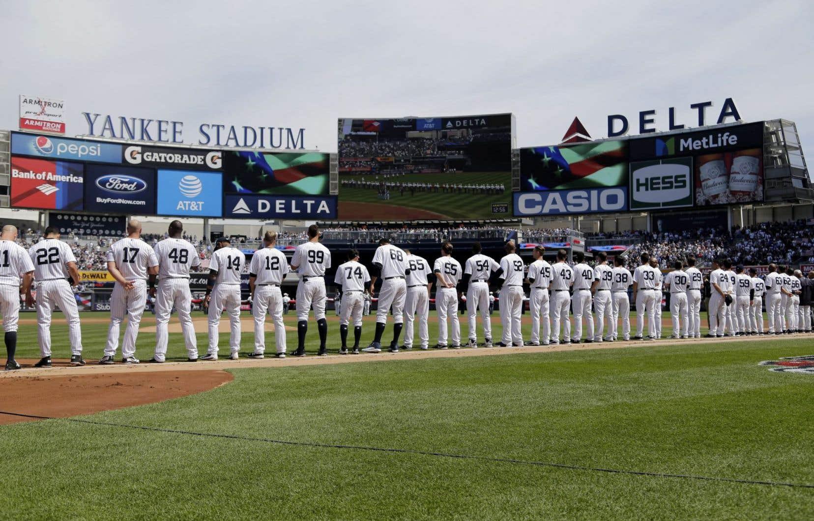 La valeur moyenne d'une équipe a bondi de 19% pour se situer à 1,54milliard.