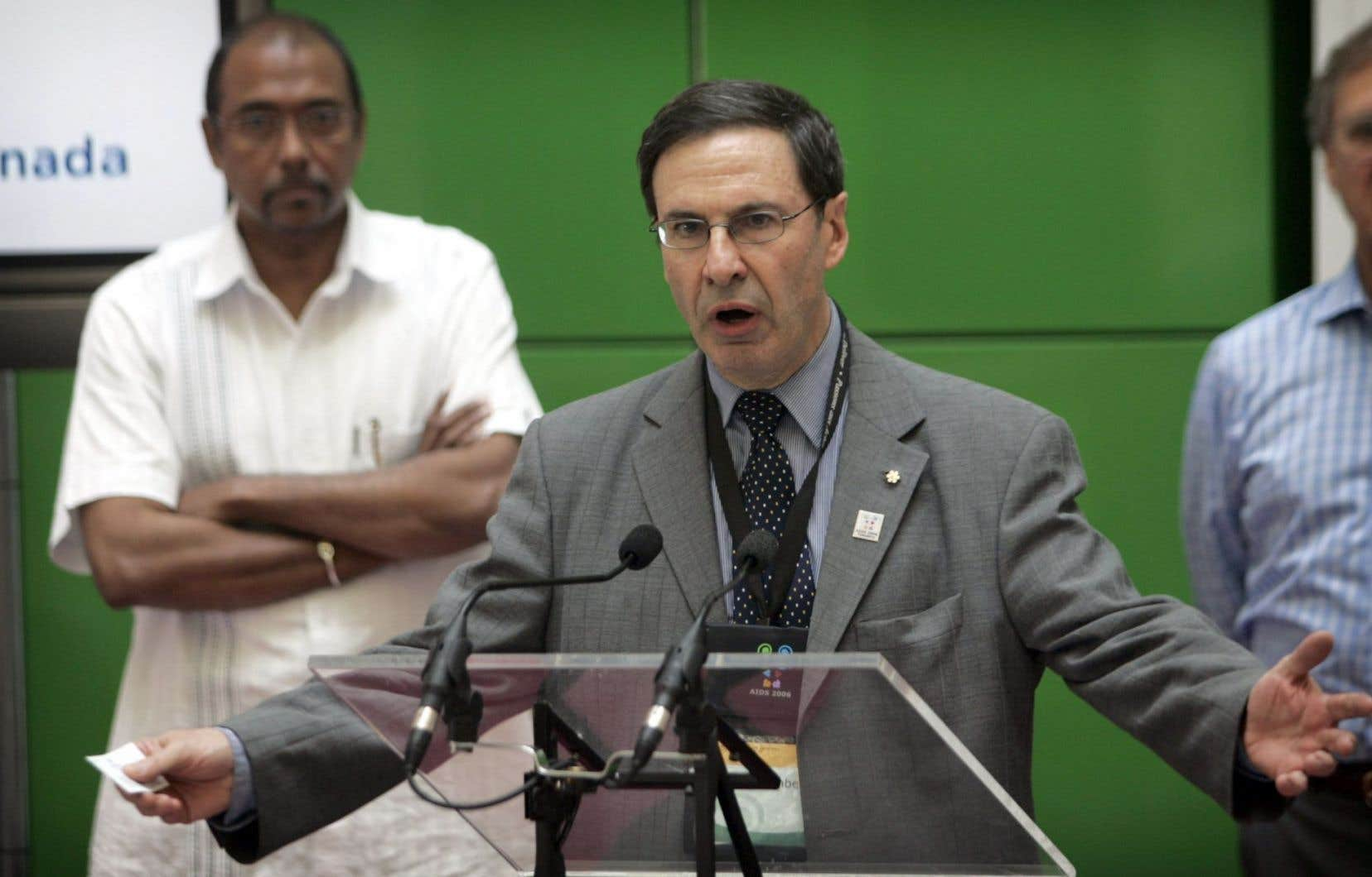 Le docteur Mark Wainberg était un chercheur de renommée internationale