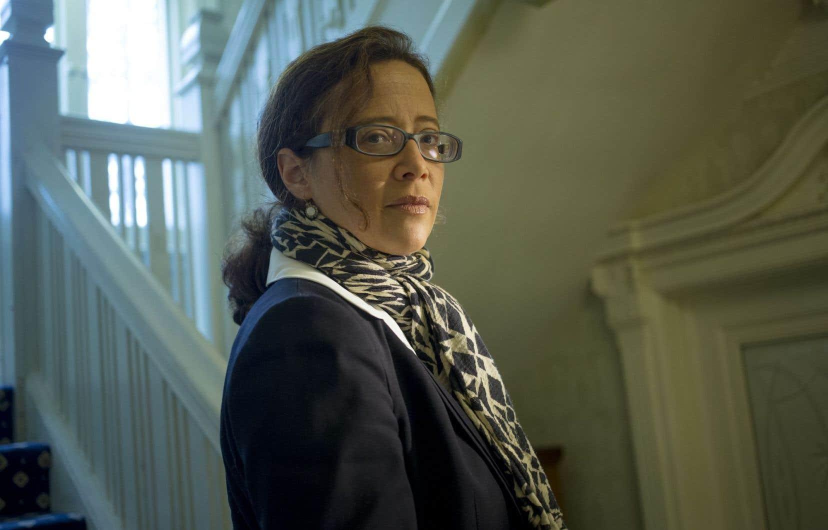 La philosophe française Céline Spector était de passage à Montréal pour participer aux événements soulignant le cinquantenaire du Département de philosophie de l'Université de Montréal.