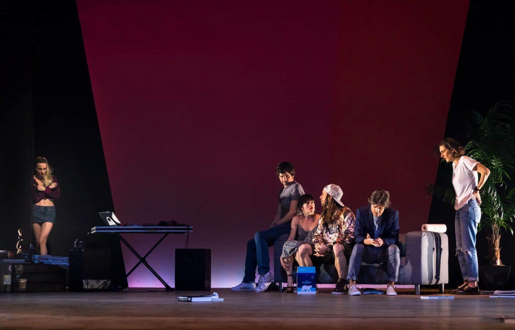 La pièce «Toccate et fugue» rassemble six interprètes remarquables.