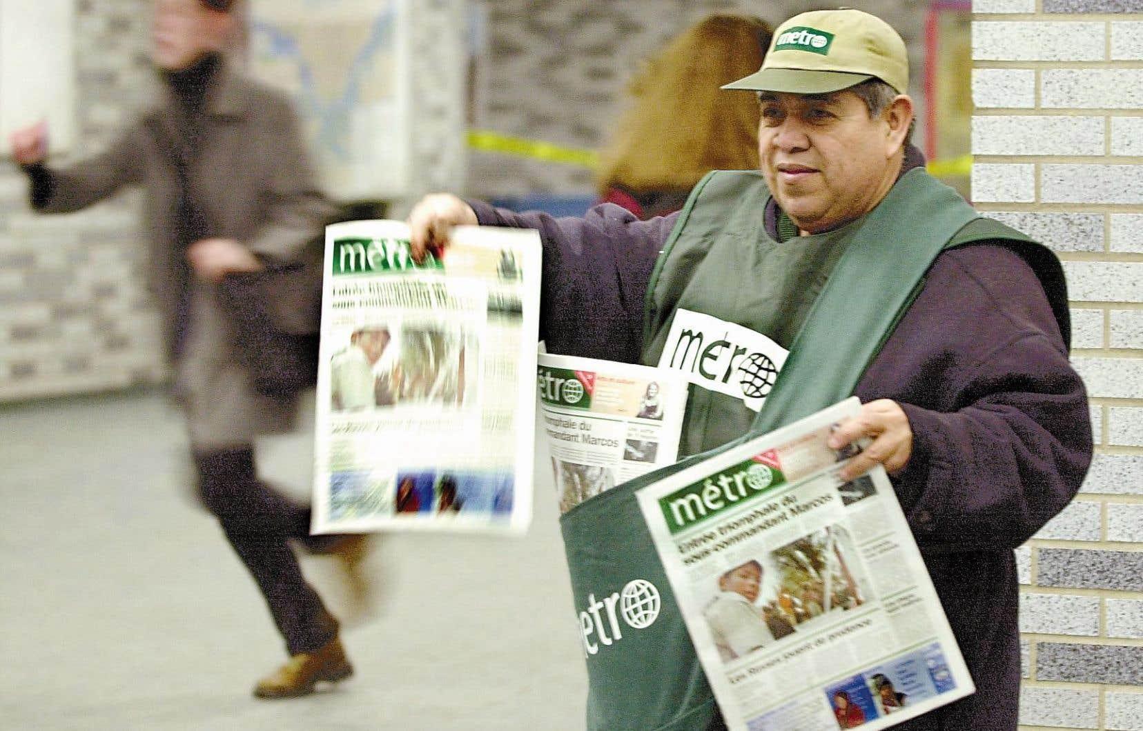 La décision de l'éditeur et imprimeur concerne 93 publications, dont le quotidien «Métro».