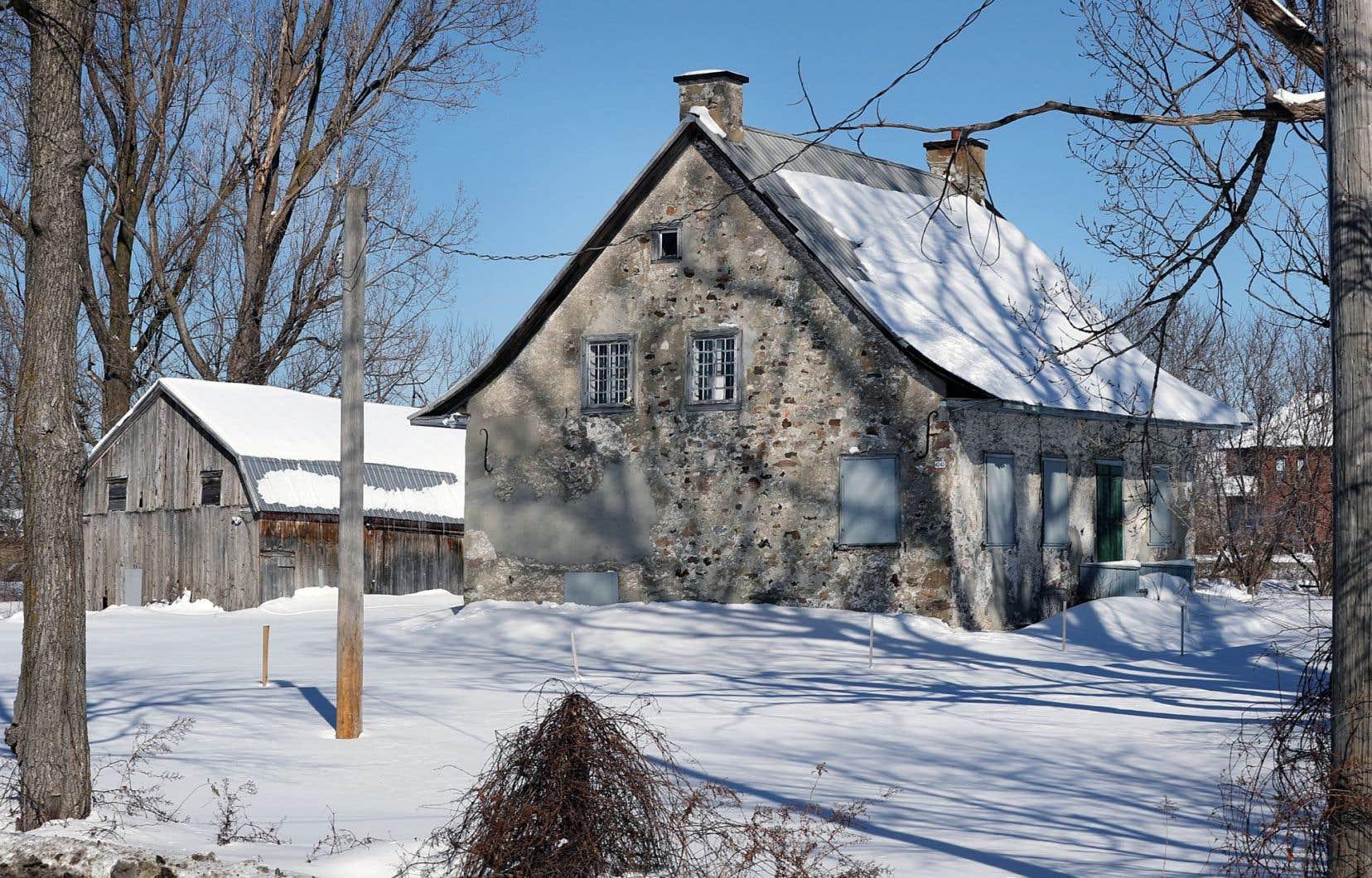 La maison ancestrale a été construite à la fin du XVIIIe siècle.