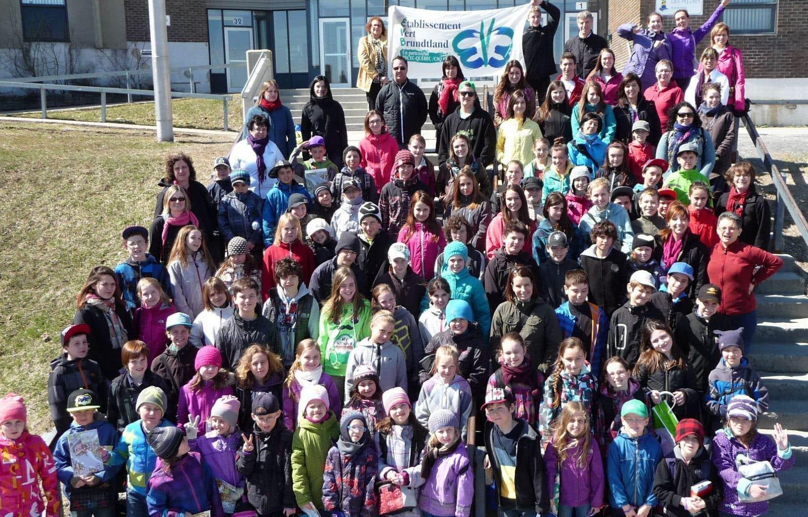 Carrefour de la citoyenneté responsable organisé par le mouvement des établissements verts Brundtland (EVB), à Montréal