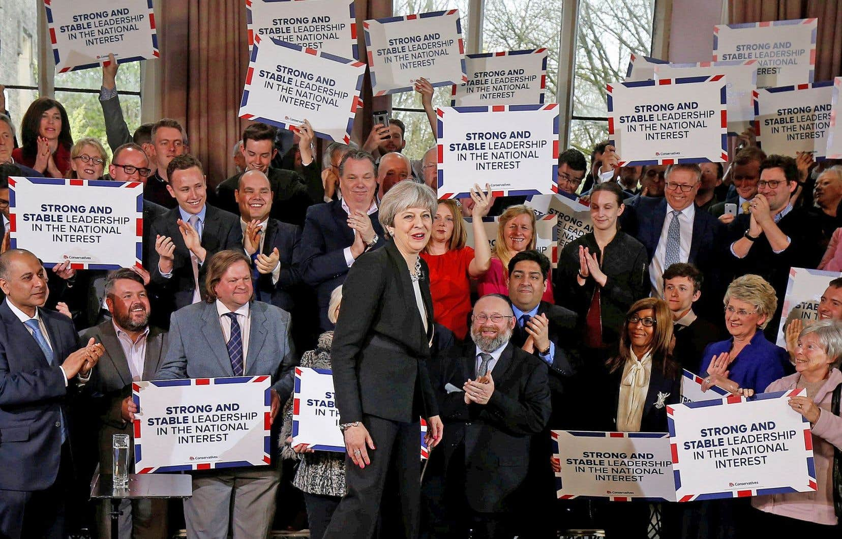 La première ministre Theresa May