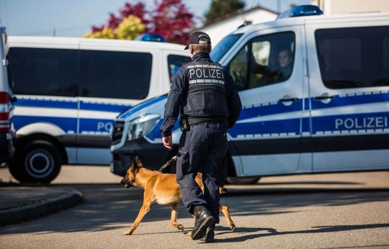 Le suspect a été interpellé par la police dans la région de Tübingen.