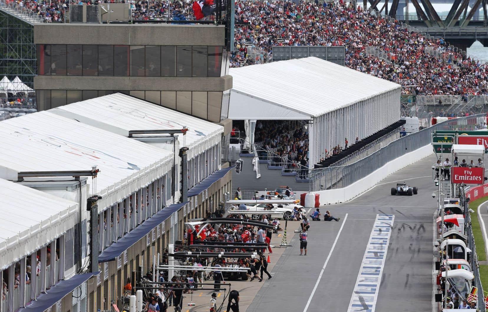 En 2014, Montréal s'était engagé à procéder à d'importants travaux au circuit Gilles-Villeneuve afin de moderniser les infrastructures selon les instructions de la FIA.