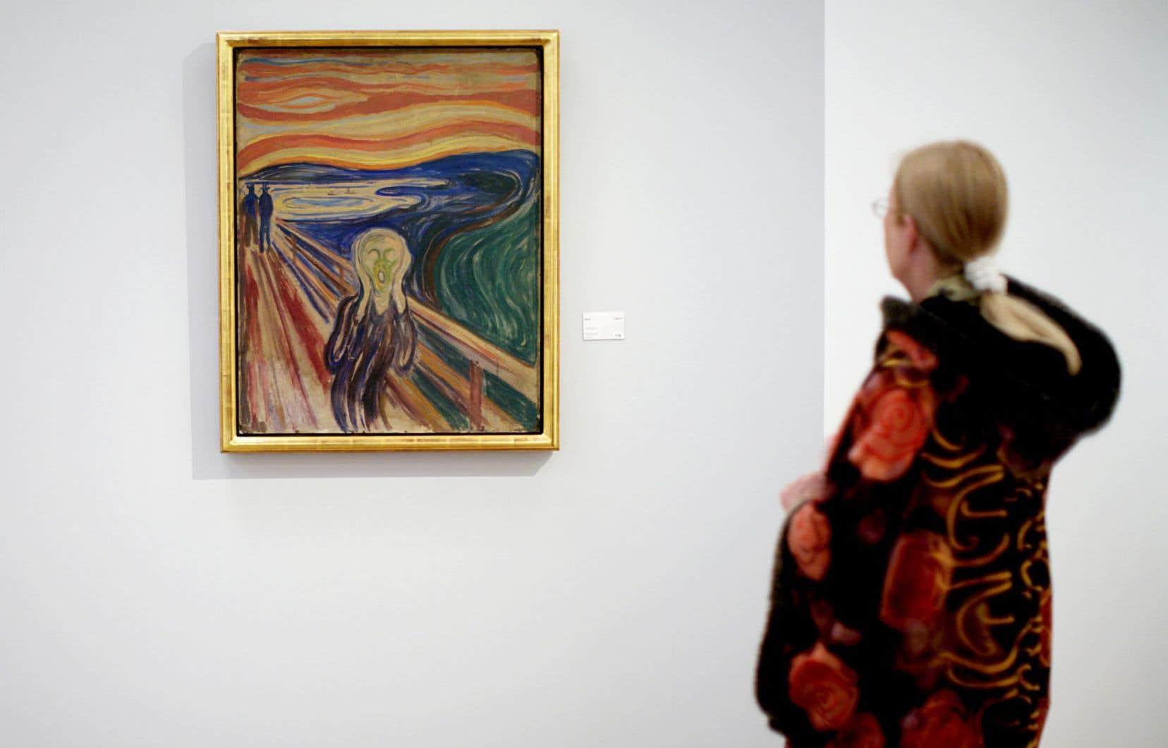 La peinture «Le cri» d'Edvard Munch