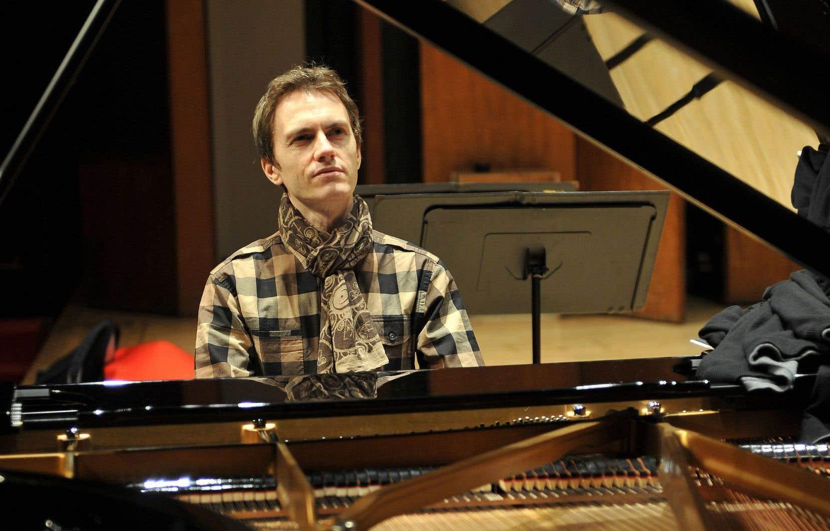 Le pianiste françaisAlexandre Tharaud
