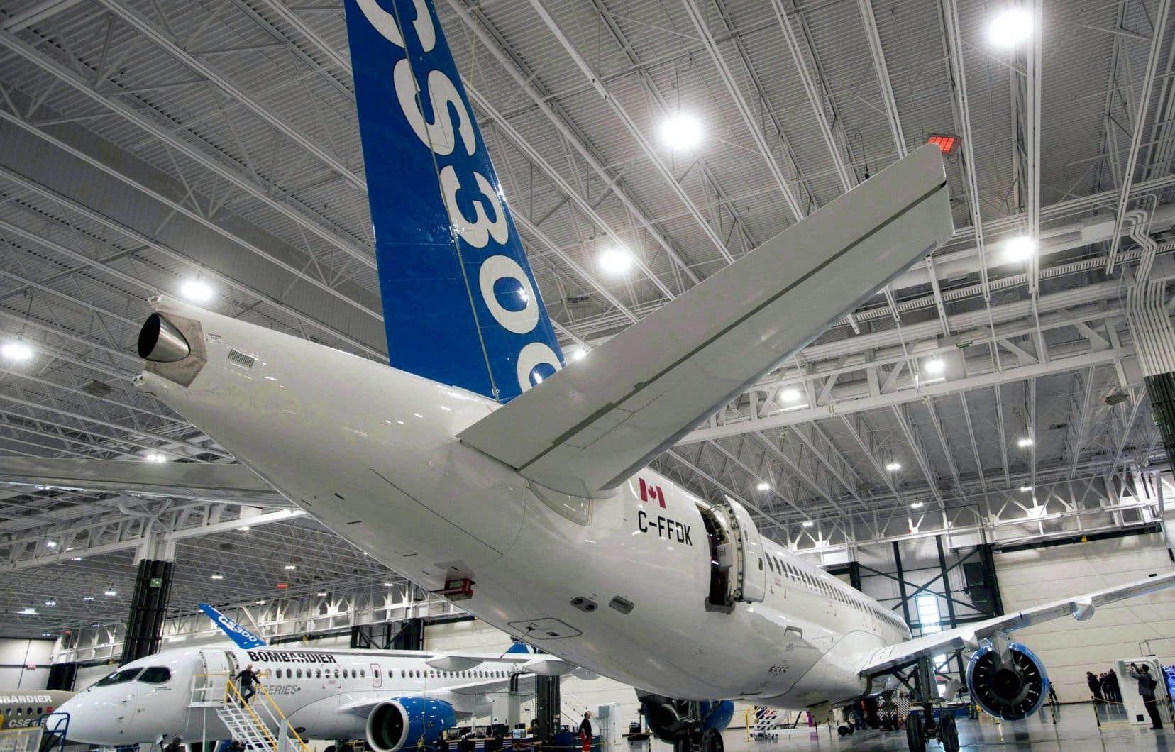 Selon Boeing, les subventions gouvernementales ont permis une «tarification agressive» par Bombardier pour ses avions de la CSeries.