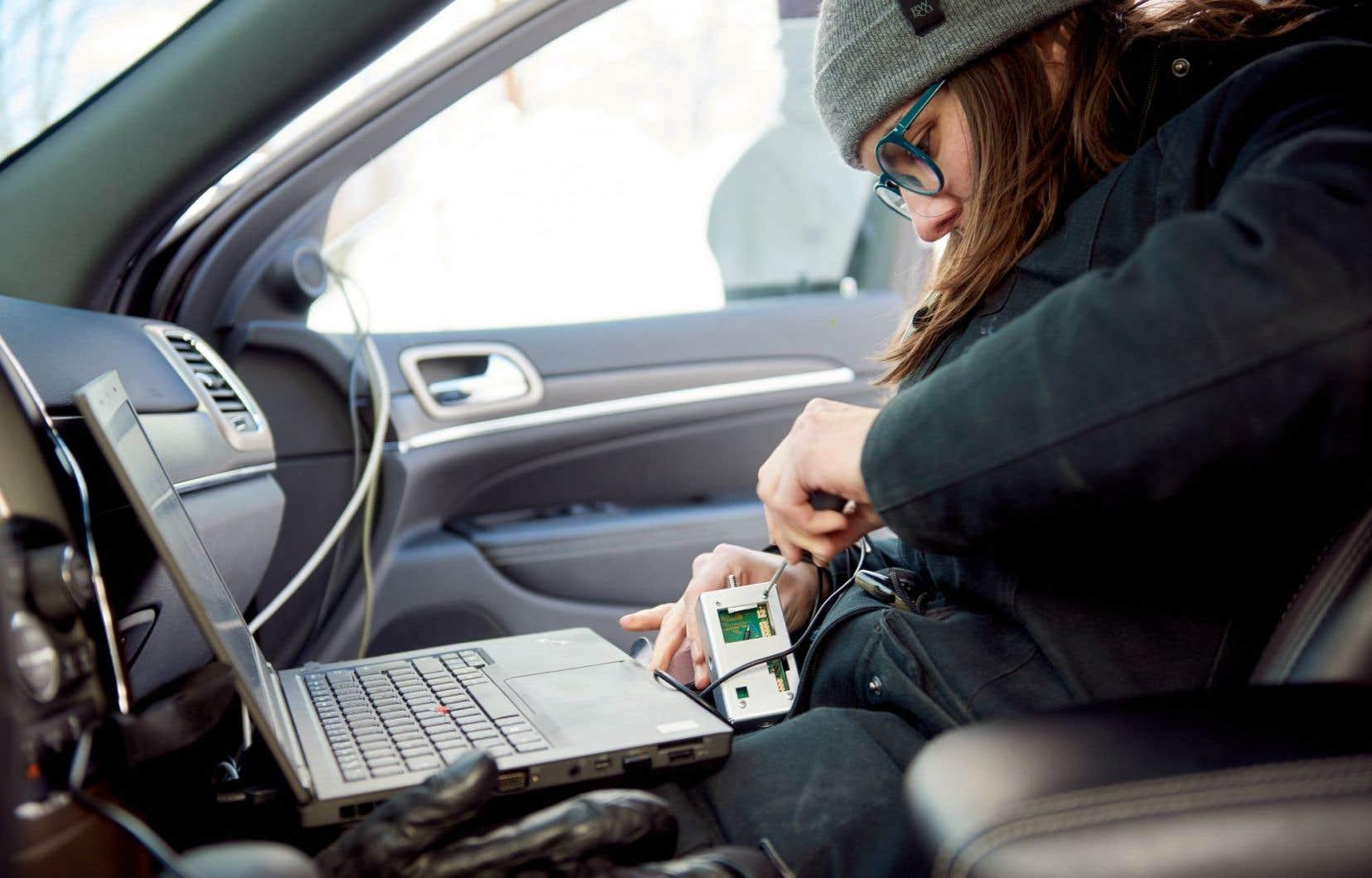 La technologie LiDAR est faite de capteurs qui permettent de détecter piétons, cônes ou voitures.