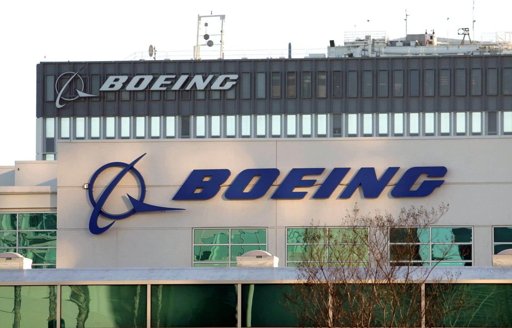 Boeing s'est tourné vers le département du Commerce et la Commission du commerce international des États-Unis pour demander une enquête sur une campagne de Bombardier jugée «agressive».